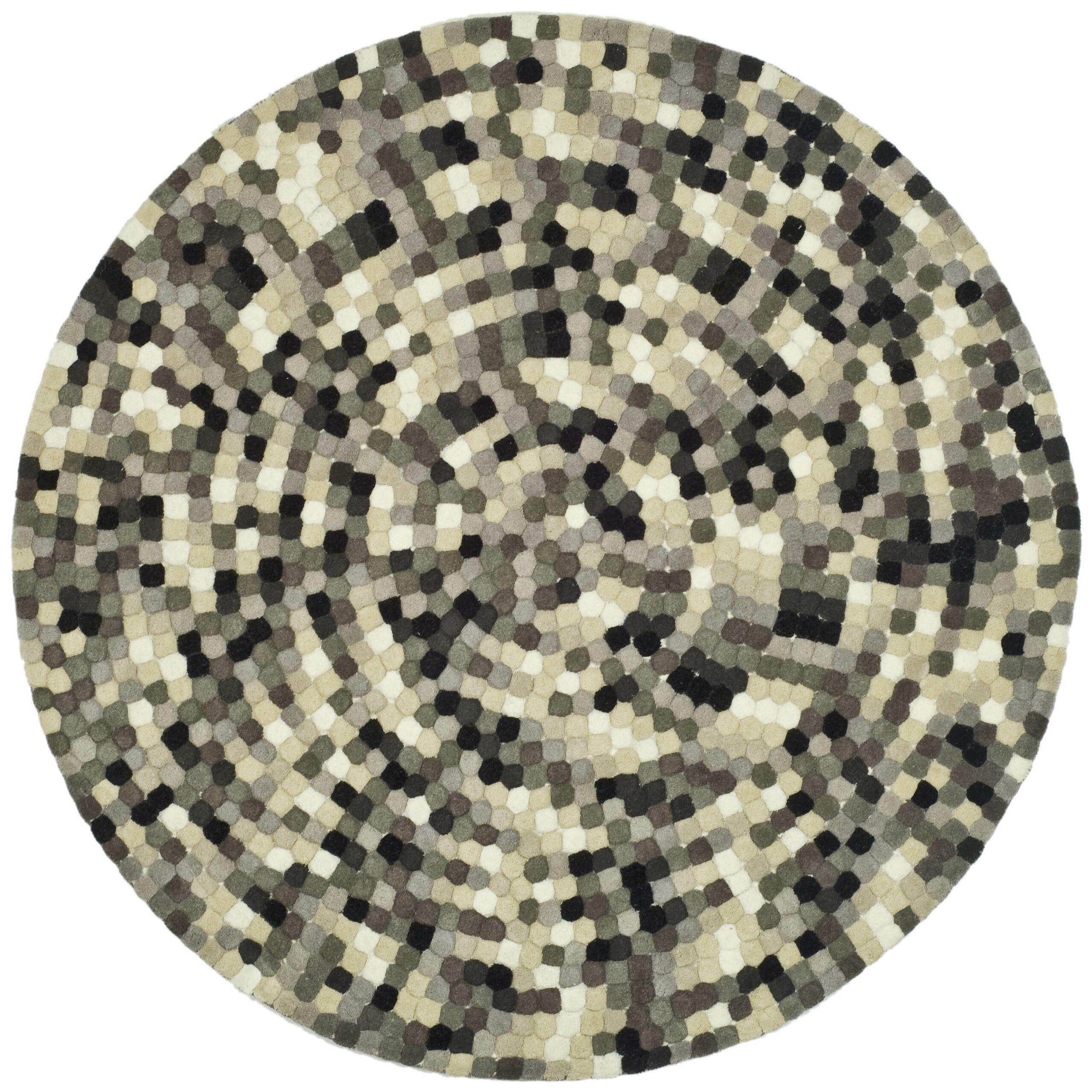 safavieh soho black grey area rug reviews wayfair. Black Bedroom Furniture Sets. Home Design Ideas