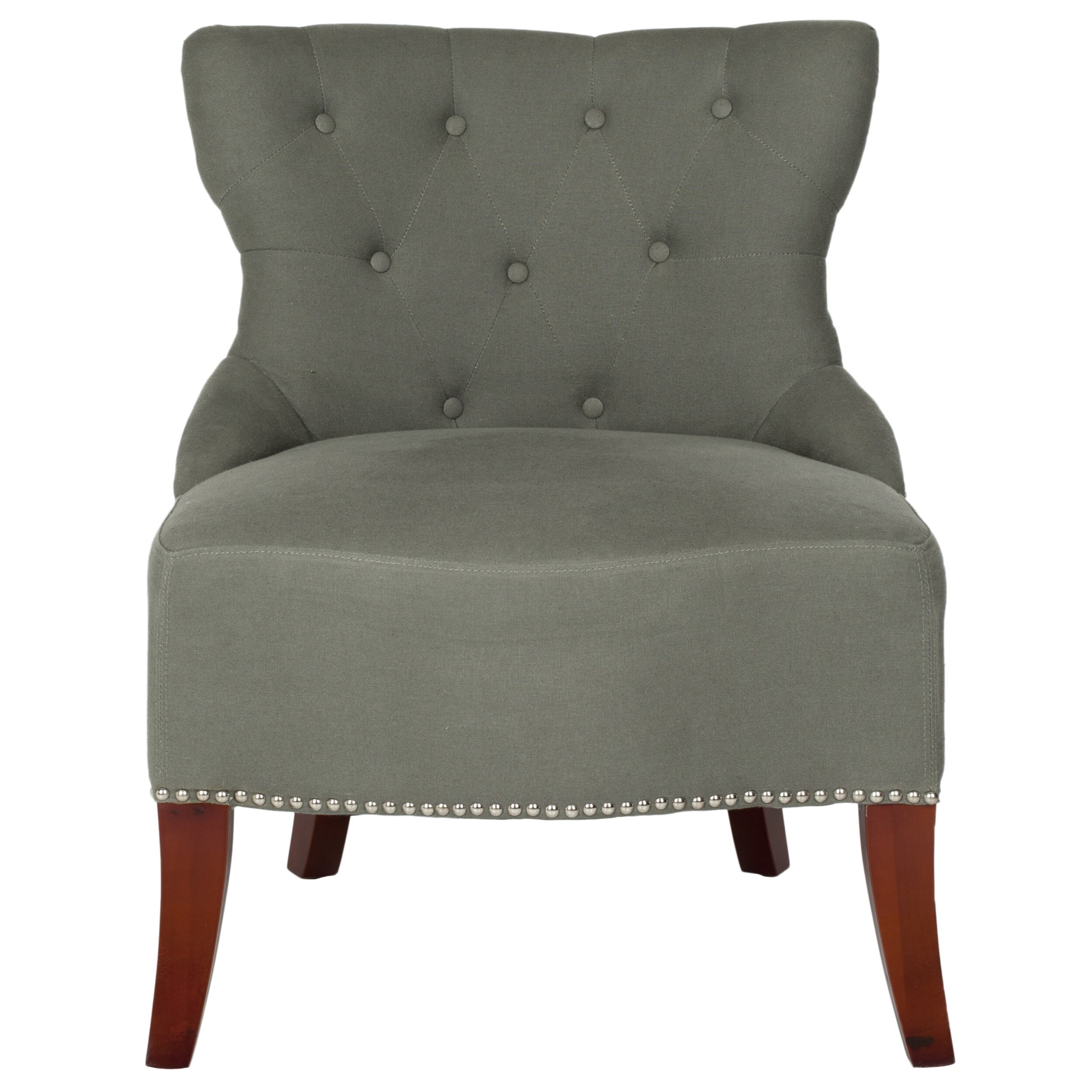 Safavieh Zachary Tufted Living Room Side Chair Reviews