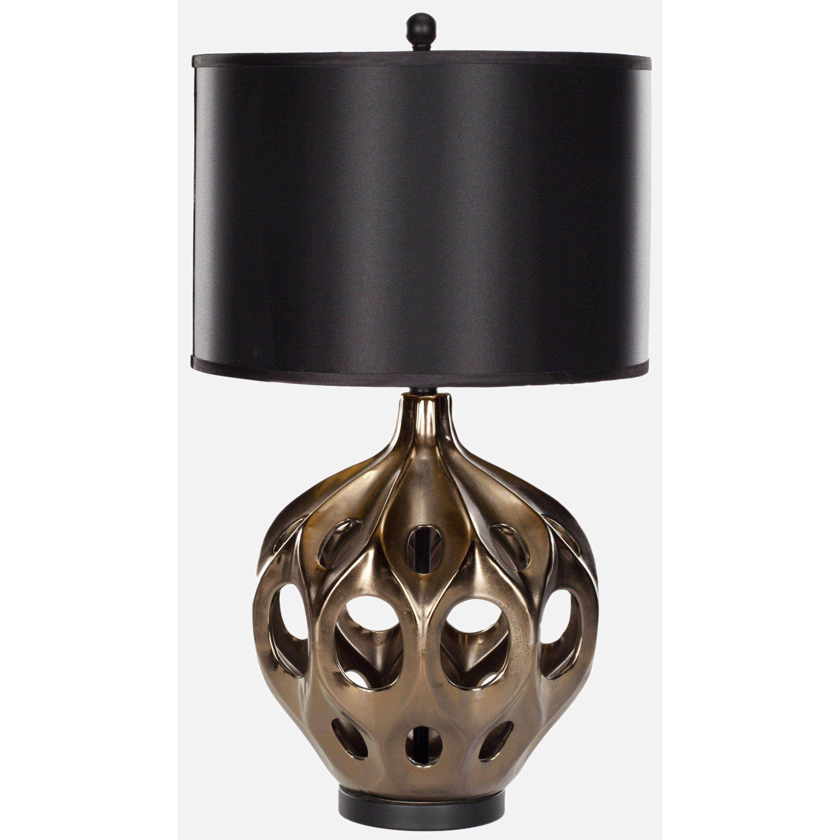 Safavieh Ceramic 29 Quot H Table Lamp With Drum Shade