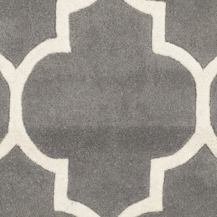 Safavieh Chatham Dark Grey Amp Ivory Moroccan Area Rug