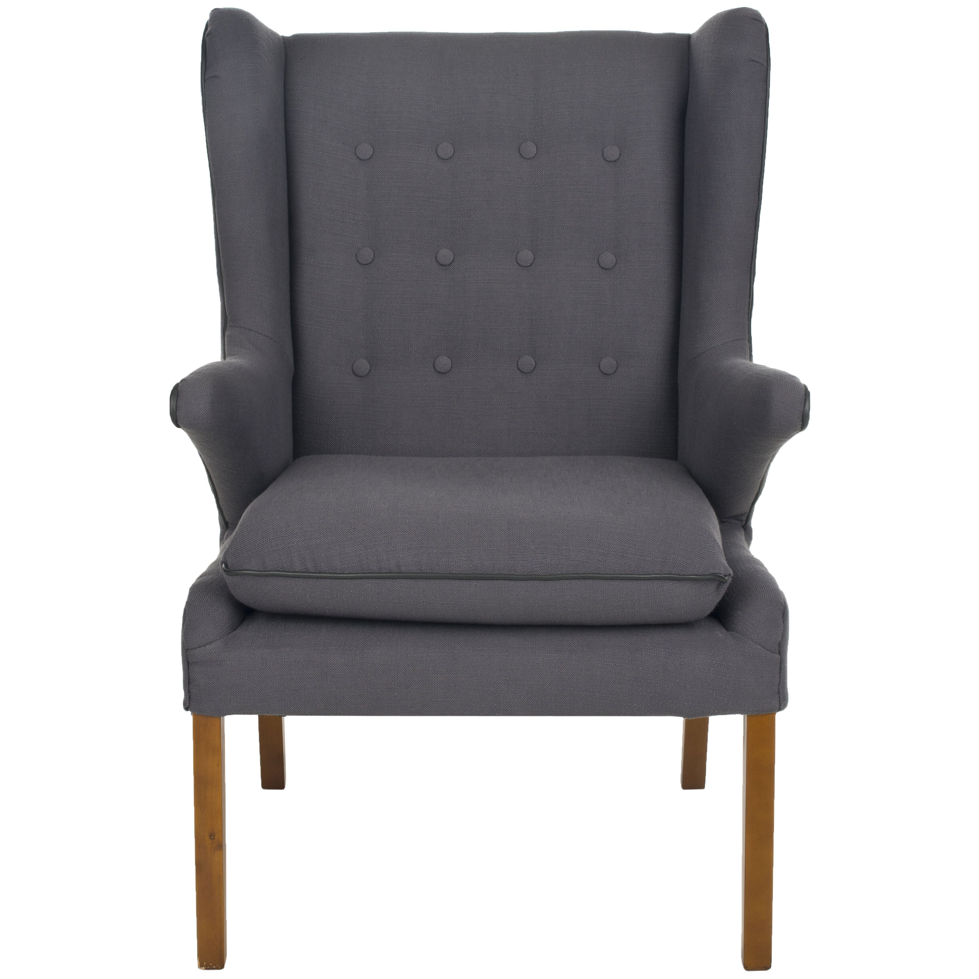 Masculine Chair Covers Safavieh Gomer Wing Chair