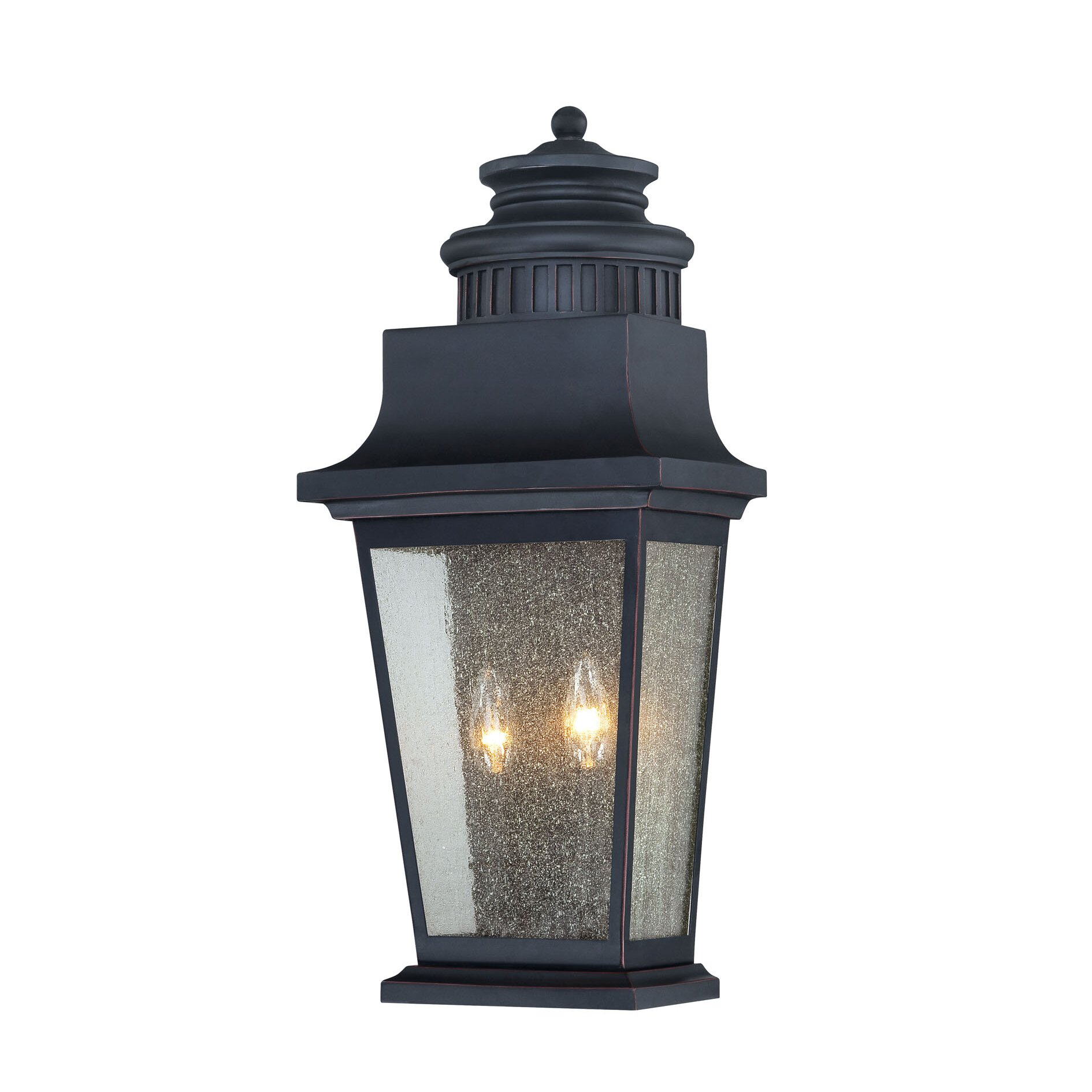 Barrister 2 Light Outdoor Flush Mount