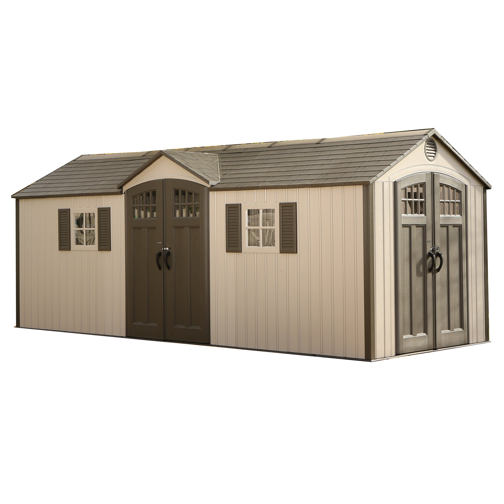 Lifetime 20 Ft W X 8 Ft D Garden Shed Amp Reviews Wayfair