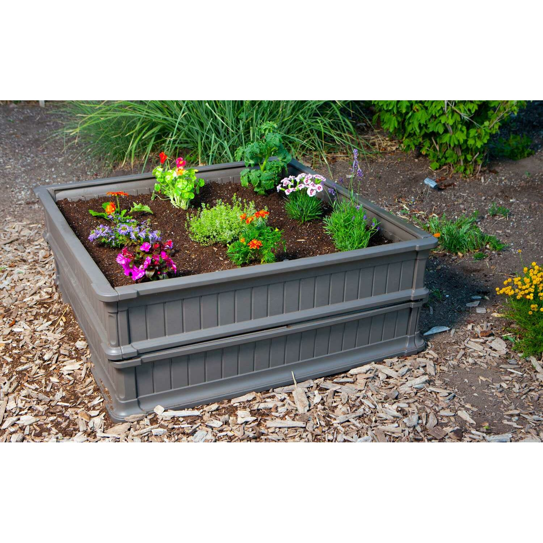 Lifetime Square Raised Garden & Reviews