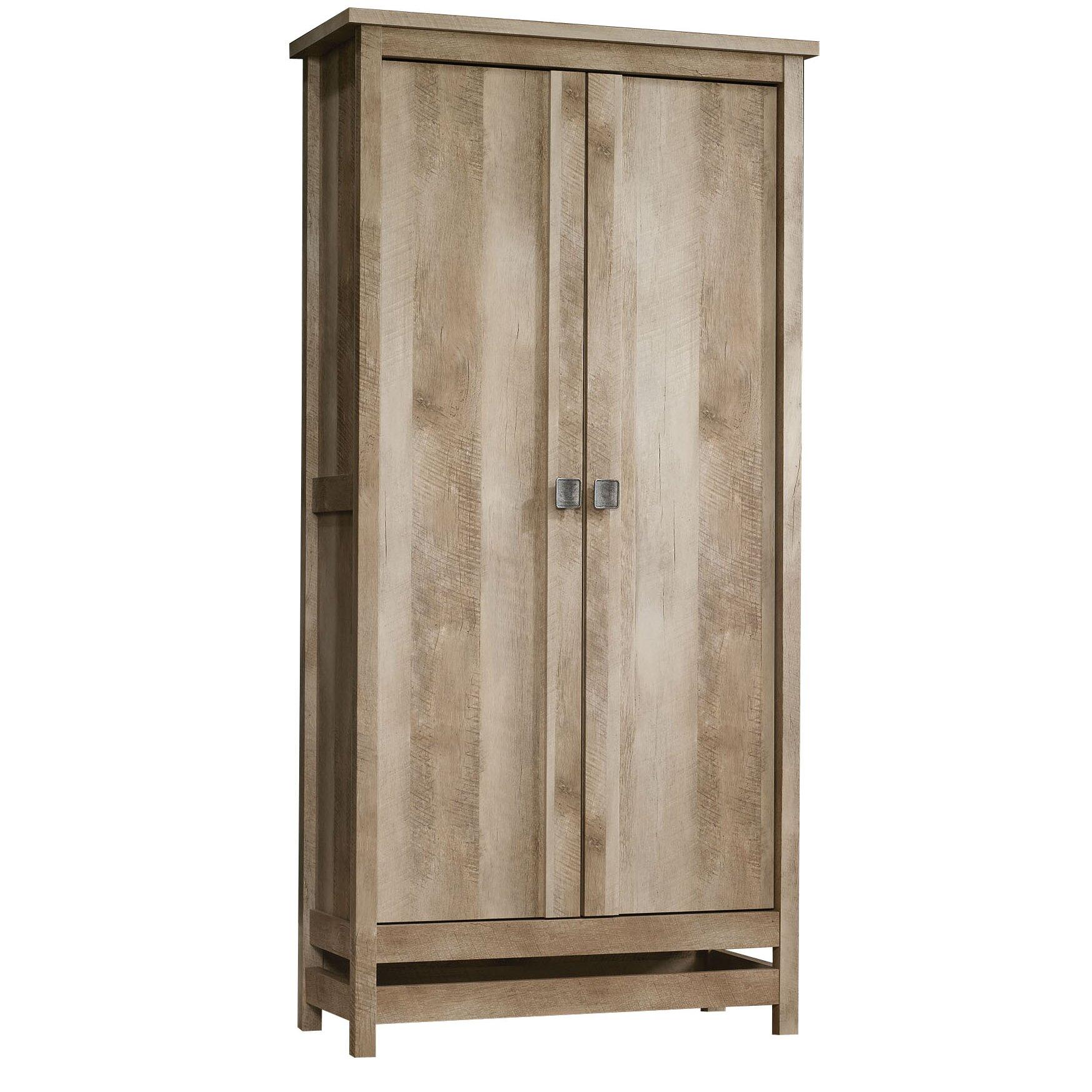 ... Sauder Pantry Cabinet With Sauder Cannery Bridge Door Storage Cabinet  Uamp Reviews Wayfair With Oak Pantry
