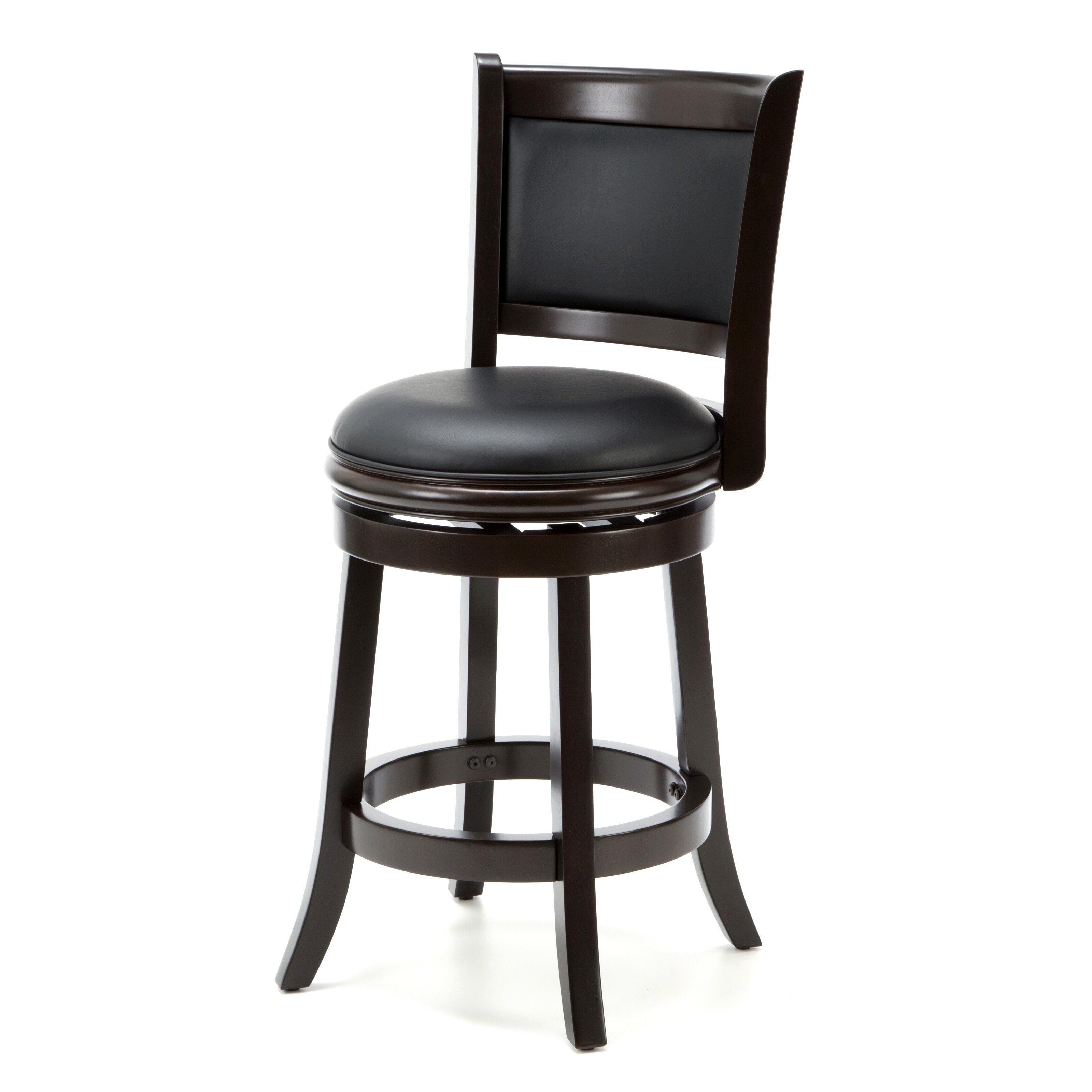 "Boraam Augusta 24 In Swivel Counter Stool: Darby Home Co Orangeville 24"" Swivel Bar Stool With"