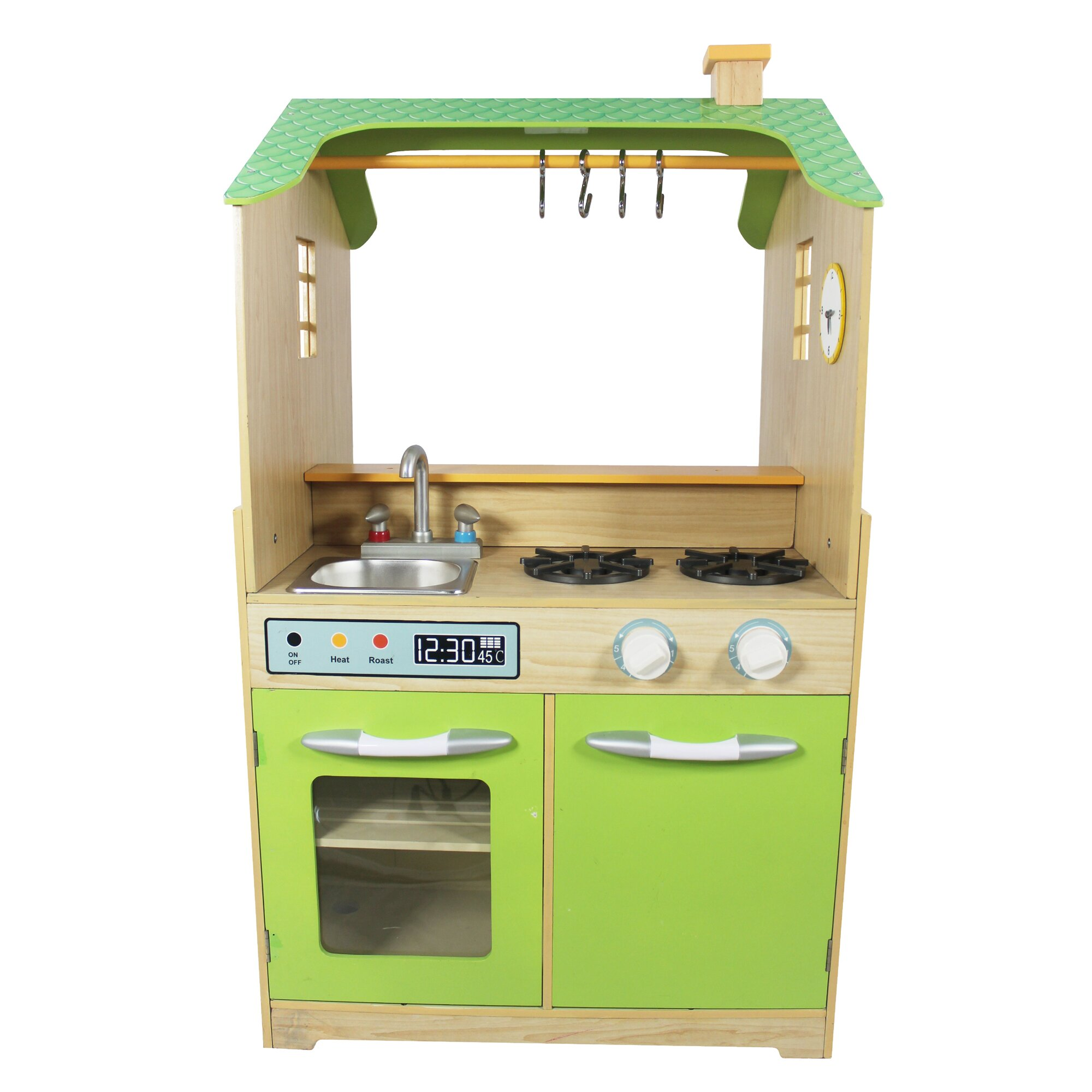 Play Kitchen With Dual Washers Set Wayfair