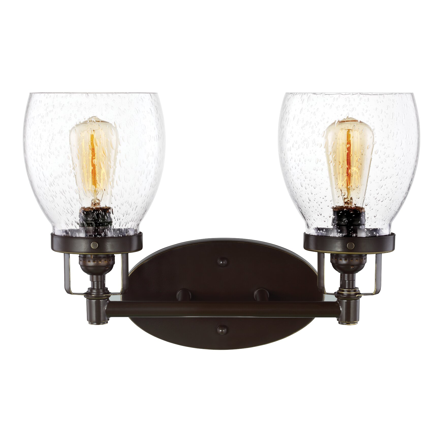 Sea Gull Lights: Sea Gull Lighting Belton 2 Light Vanity Light & Reviews