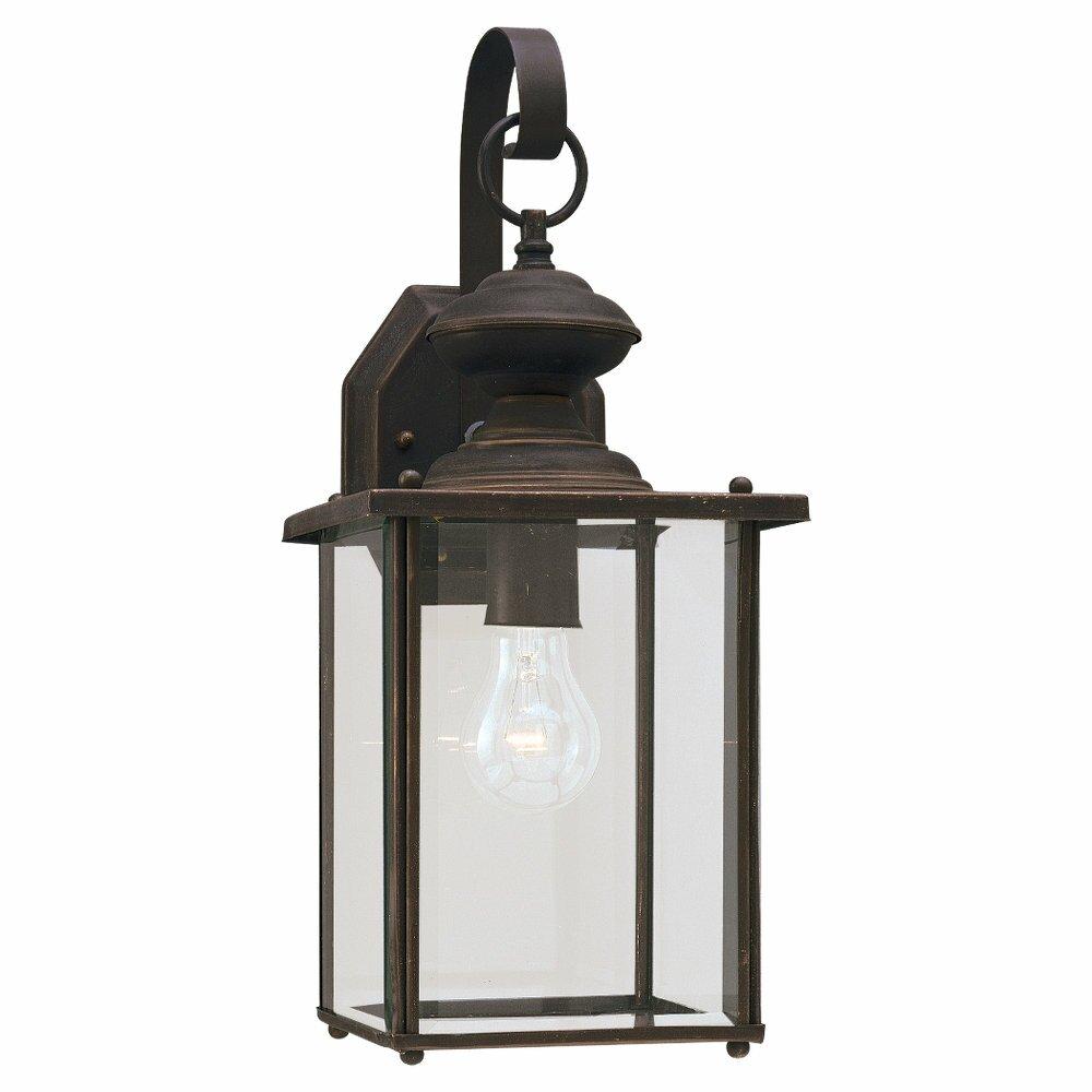 Wayfair Outside Wall Lights : Sea Gull Lighting Classic Black 1 Light Outdoor Wall Lantern & Reviews Wayfair