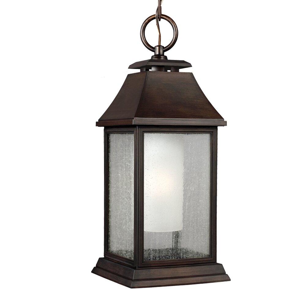Wayfair Outdoor Hanging Lights: Shepherd 1 Light Outdoor Pendant