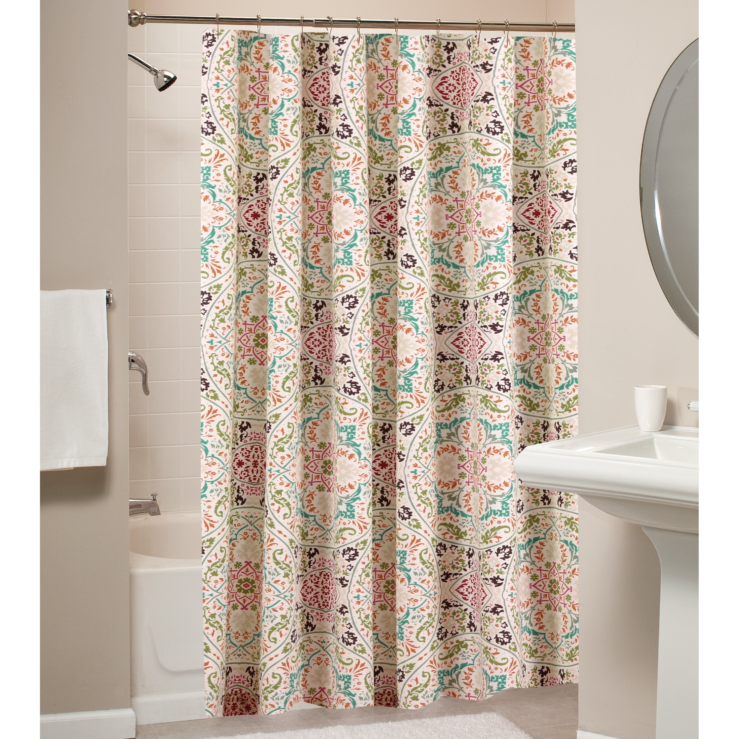 Charisma Marrakesh Shower Curtain Quotes