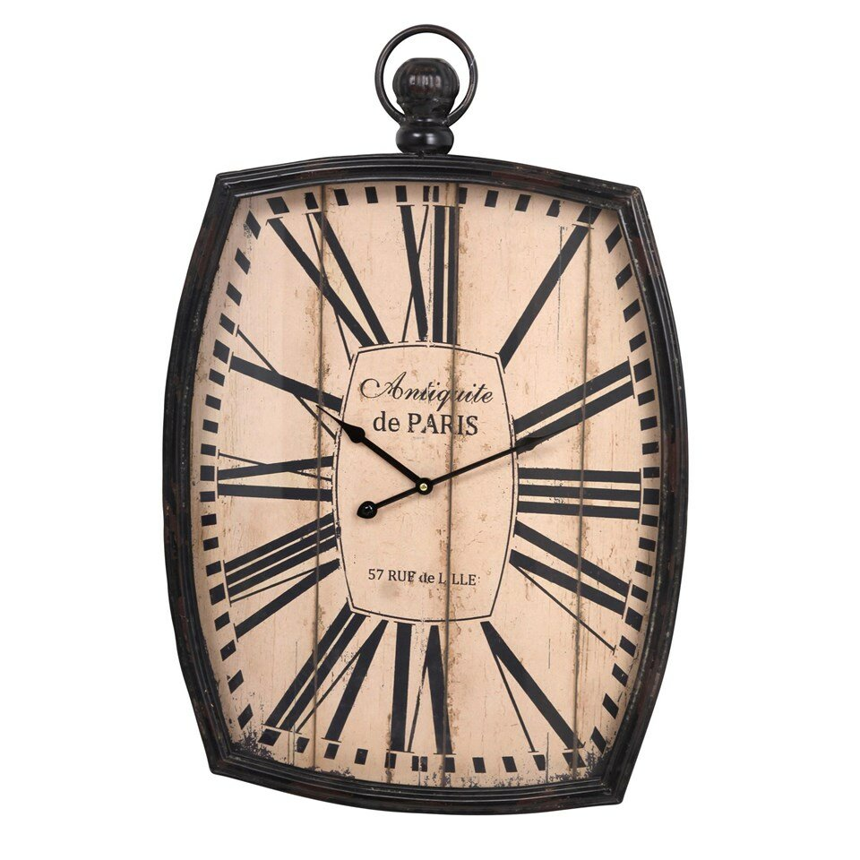 Oversized metal wall clock wayfair Oversized metal wall clocks