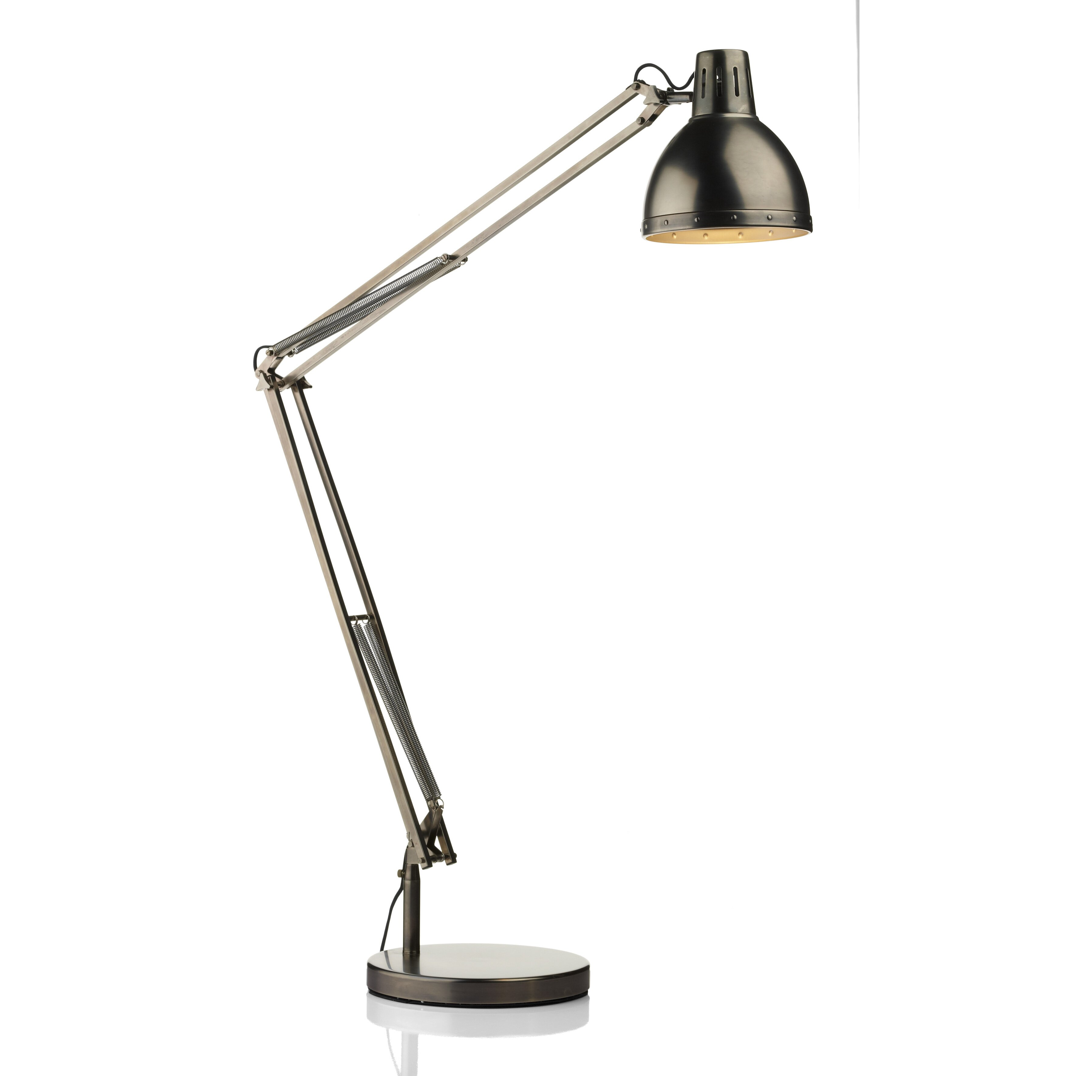 Dar Lighting Osaka 172cm Reading Floor Lamp Amp Reviews