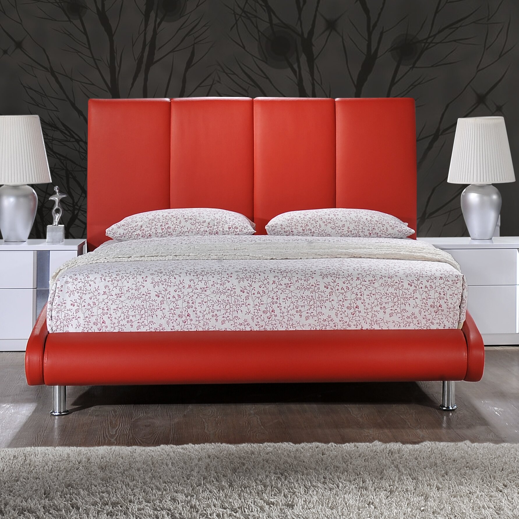 Global Furniture Usa Upholstered Sleigh Bed Reviews Wayfair