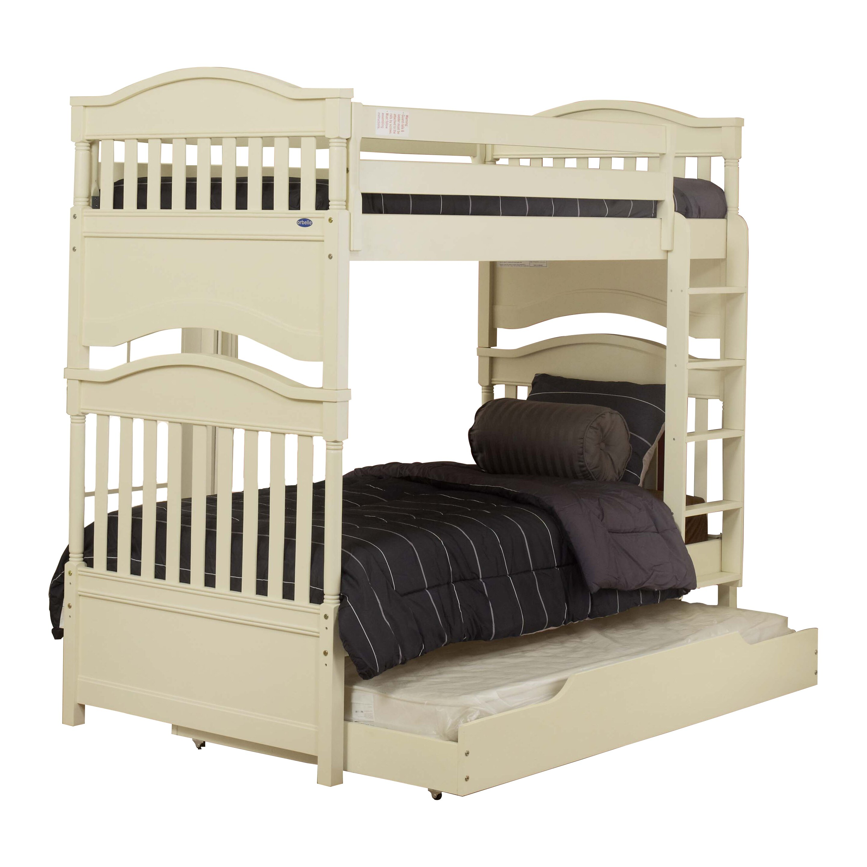 Imperial Twin Bunk Bed With Storage Wayfair