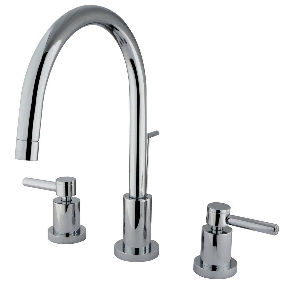 Elements Of Design Concord Double Handle Single Hole Widespread Bathroom Faucet Reviews Wayfair
