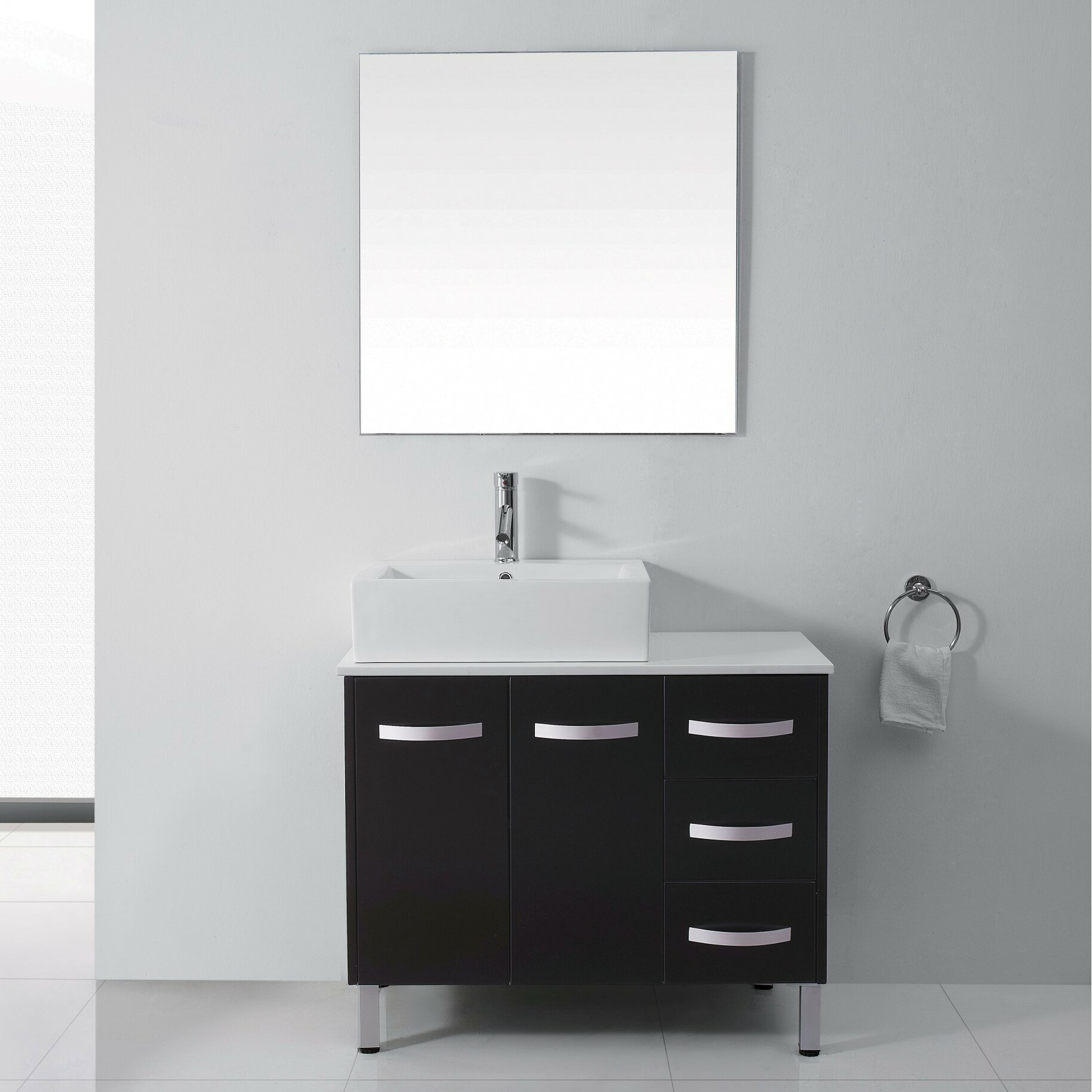 Fantastic A Small Bathroom Can Also Be Beautiful  Many Interesting Independent Cabinets Suspended On The Wall With Same Ultramodern Stylish Designs The Collection Includes Also Modern Mirrors With LED Lights In A Variety Of Shapes And Frame