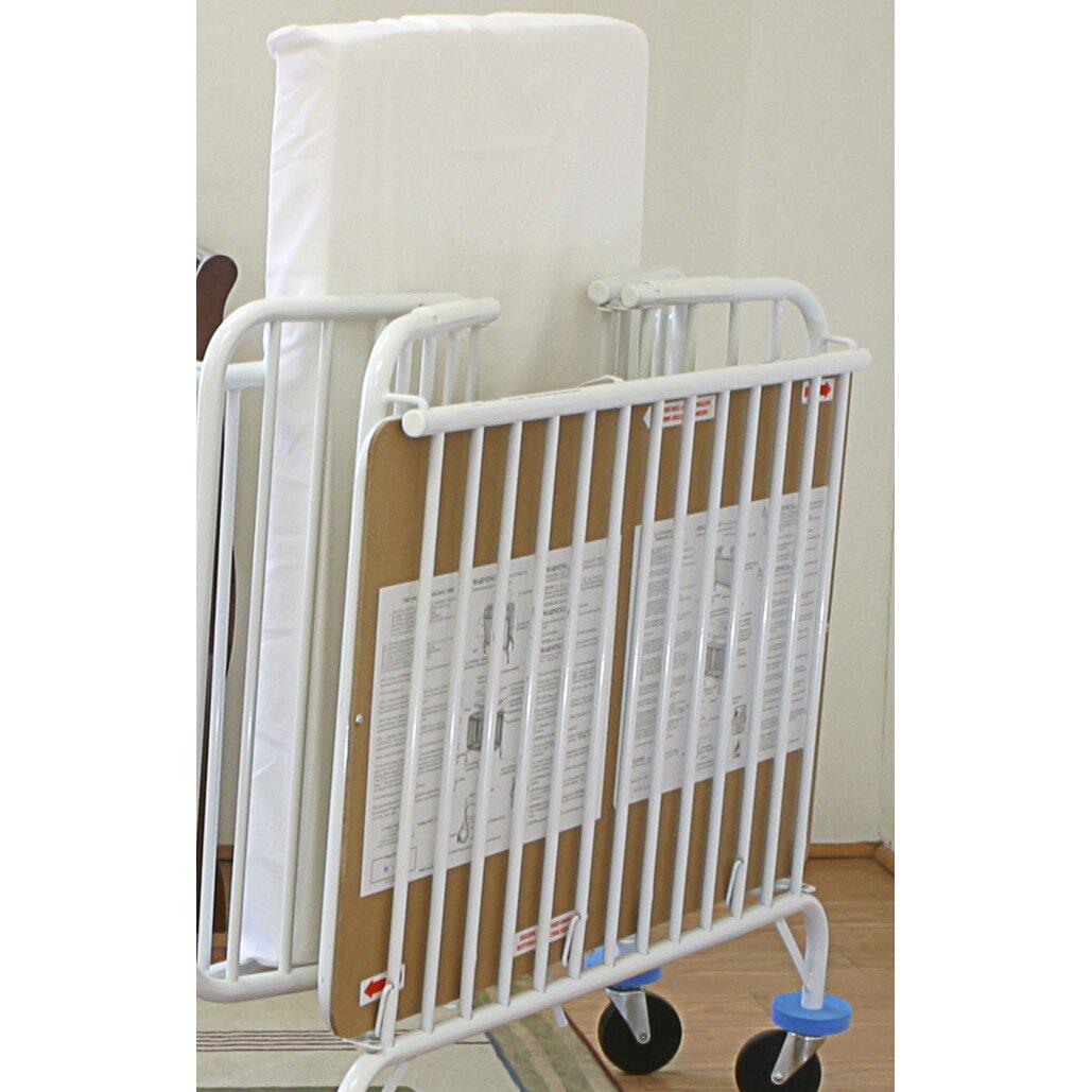 L A Baby Serene Sleep 2 in 1 Orthopedic Crib Mattress