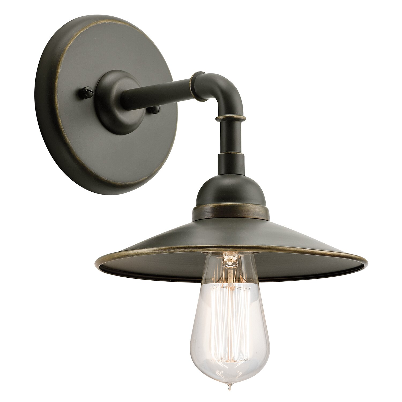 Kichler 1 Light Outdoor Outdoor Barn Light & Reviews