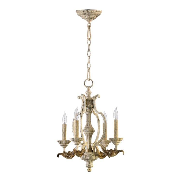 quorum florence 4 light chandelier reviews wayfair
