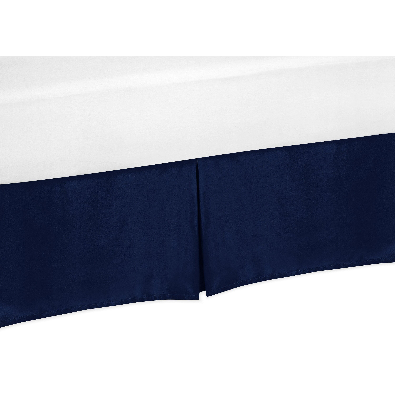 sweet jojo designs navy blue and white chevron thread