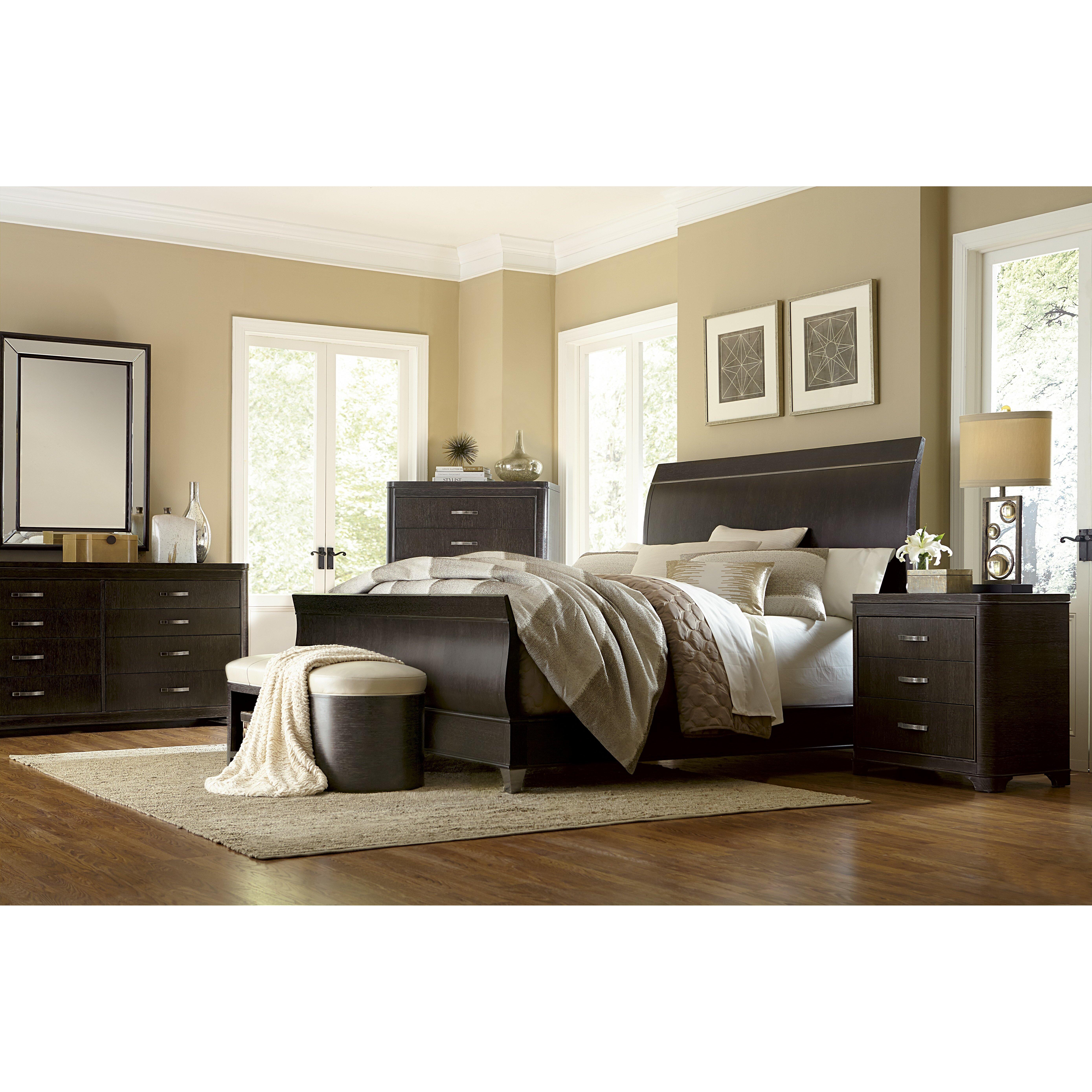 Sleigh Bedroom Sets : Greenpoint Sleigh Customizable Bedroom Set  Wayfair