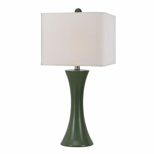 madison 26 h table lamp with rectangular shade reviews wayfair. Black Bedroom Furniture Sets. Home Design Ideas
