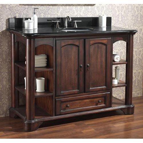 Avanity vermont 37 single bathroom vanity set reviews for Bathroom vanities massachusetts