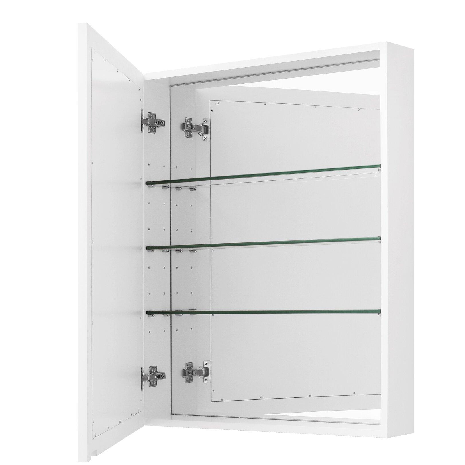 Madison 36 X 28 Mirror Wall Mounted Cabinet Wayfair