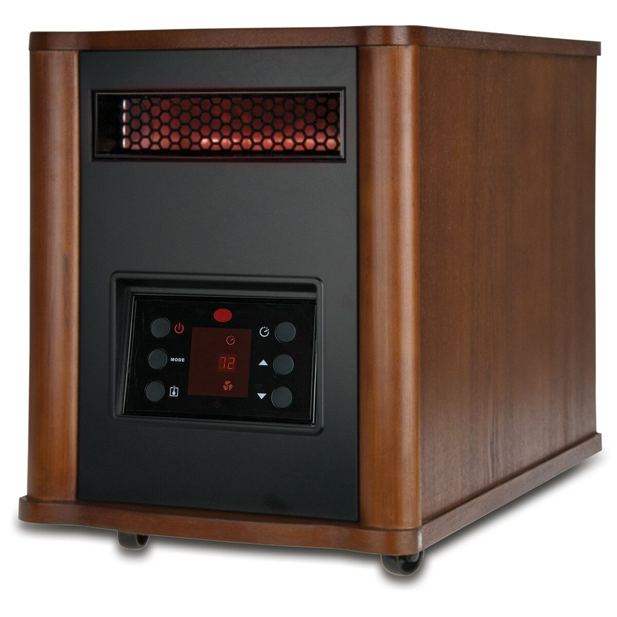Top Rated Electric Space Heaters Portable Electric Infrared Cabinet Heater with Remote ...