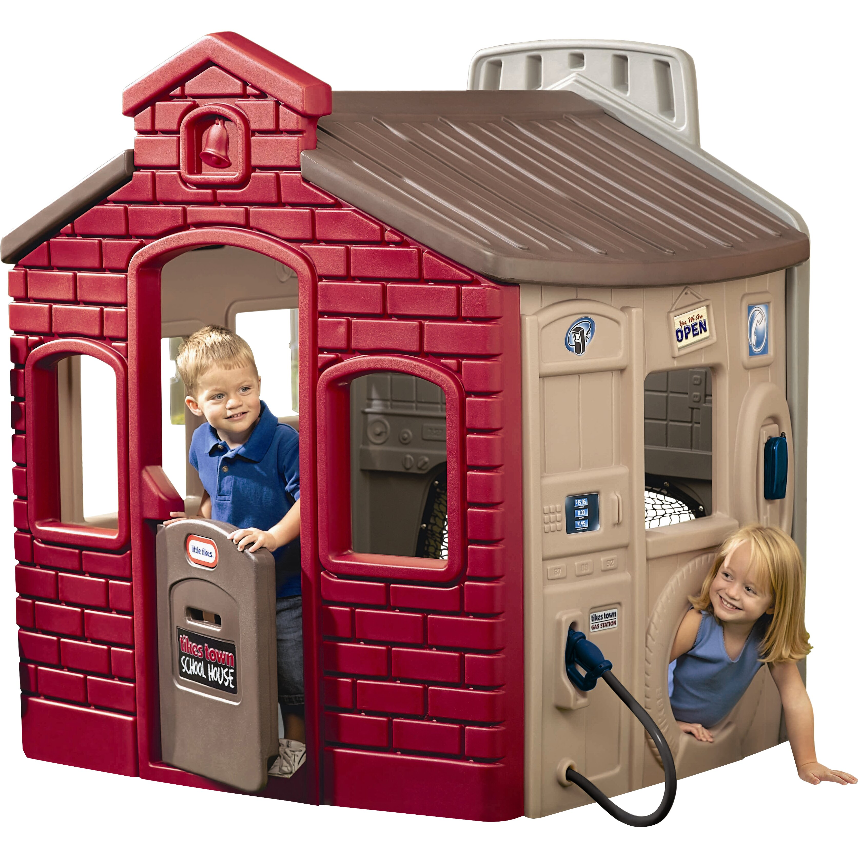 Little Tikes Town Playhouse Amp Reviews Wayfair