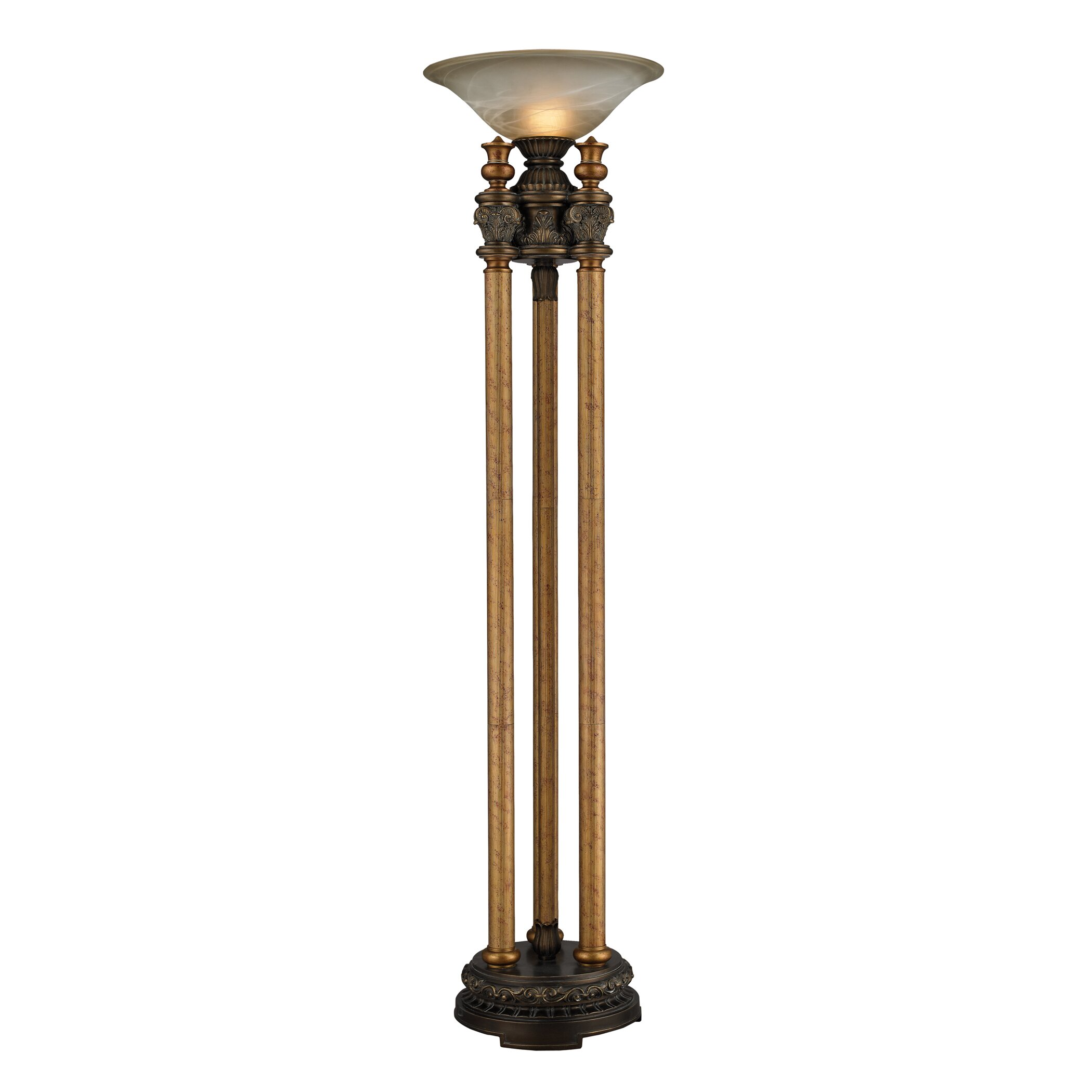 Athena 72u0026quot; Torchiere Floor Lamp : Wayfair