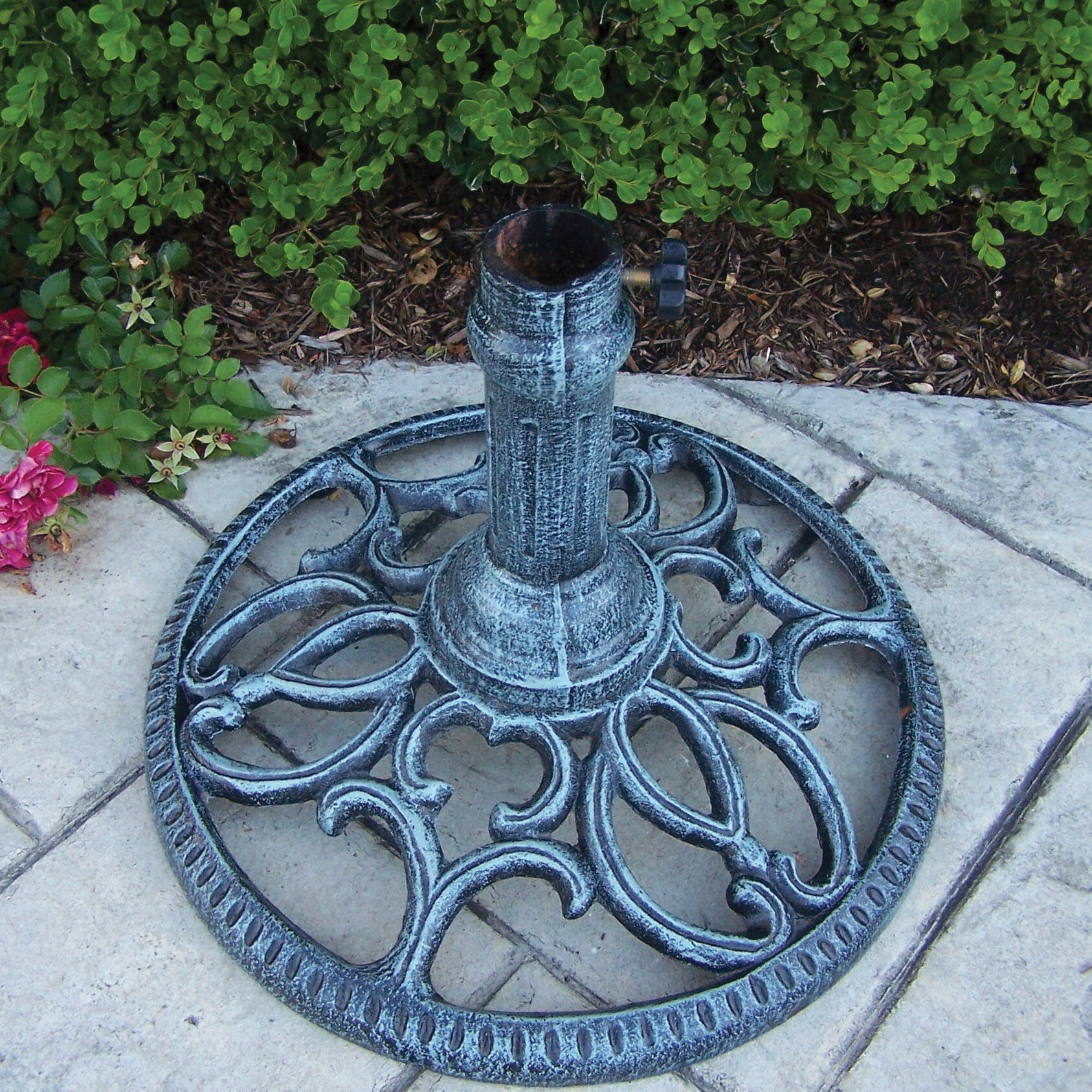 Oakland Living Free Standing Round Umbrella Base Amp Reviews