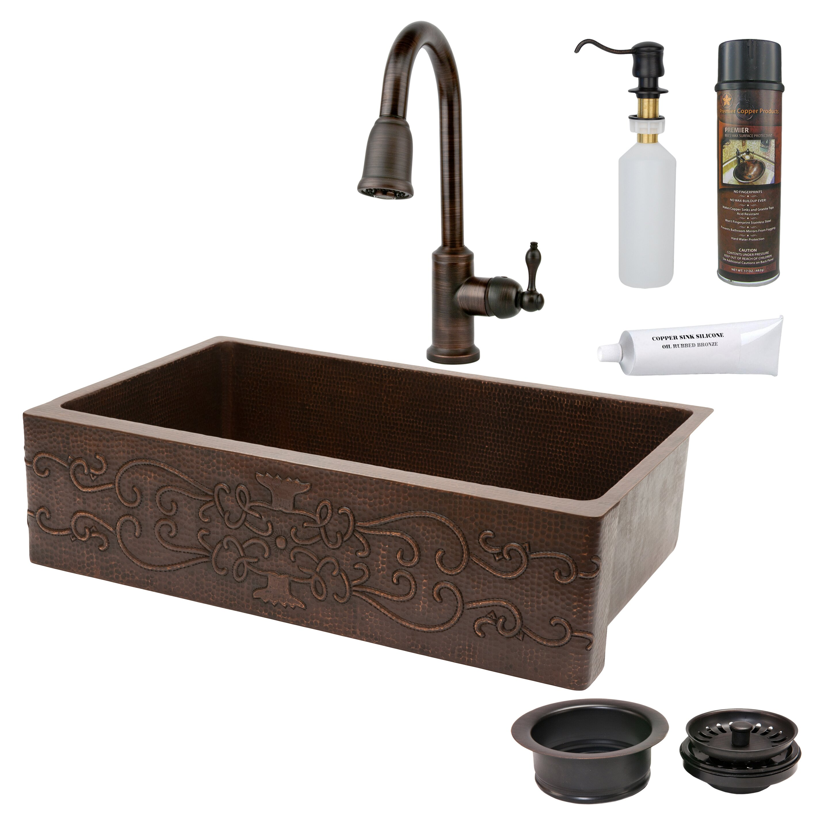 Sink With Apron : ... Copper Products 35