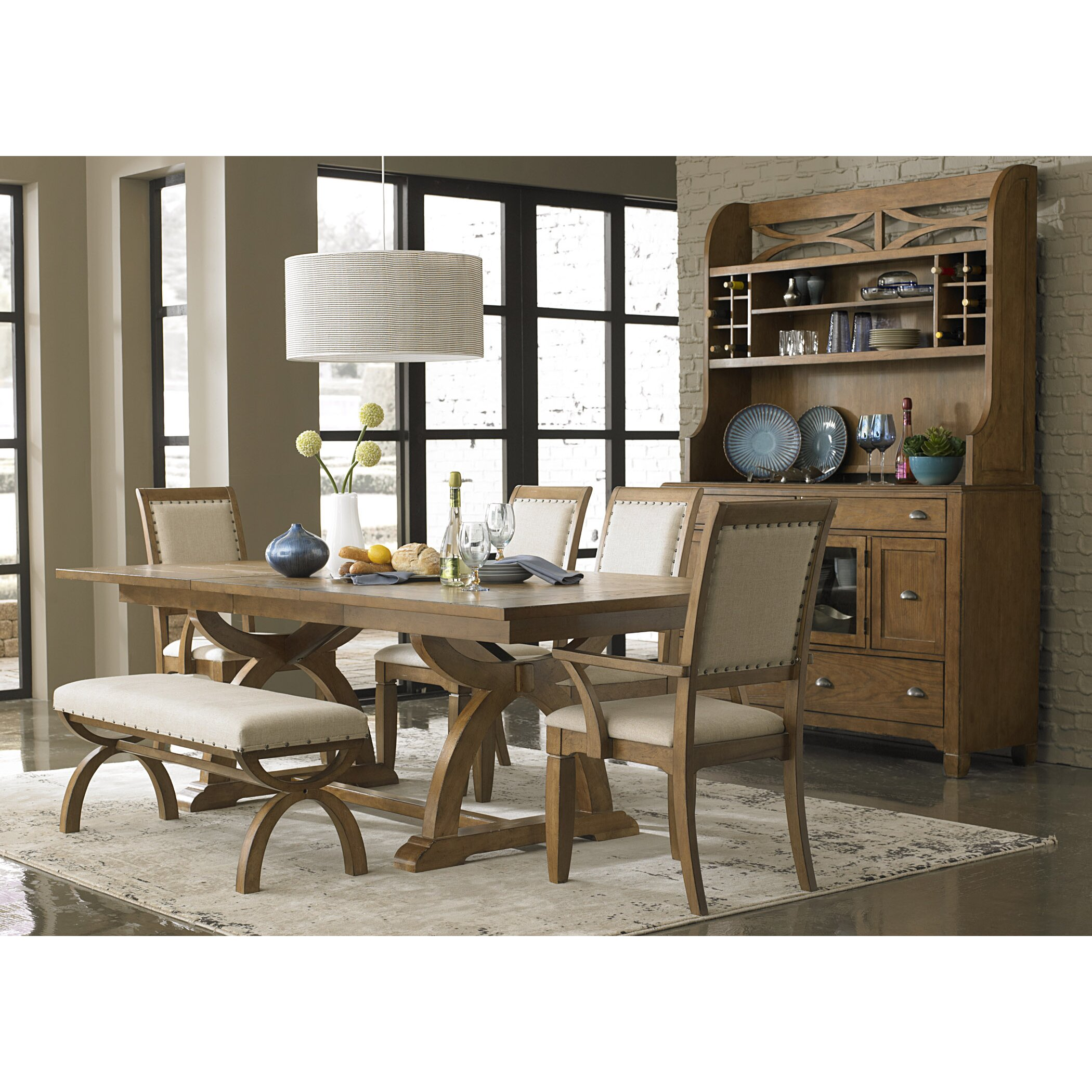 Napa Gathering Collection Liberty Furniture Town And Country Piece Dining Set