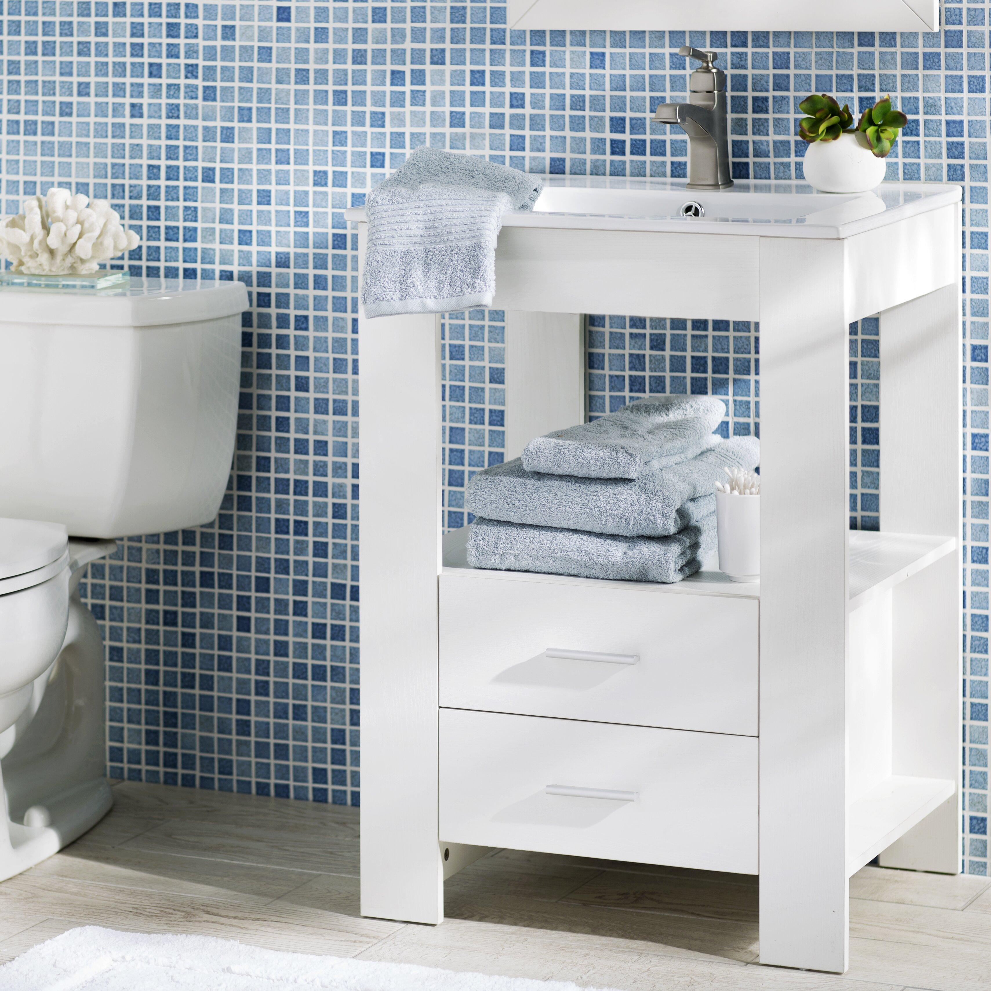 "Yosemite Home Decor 24"" Single Bathroom Vanity Set"