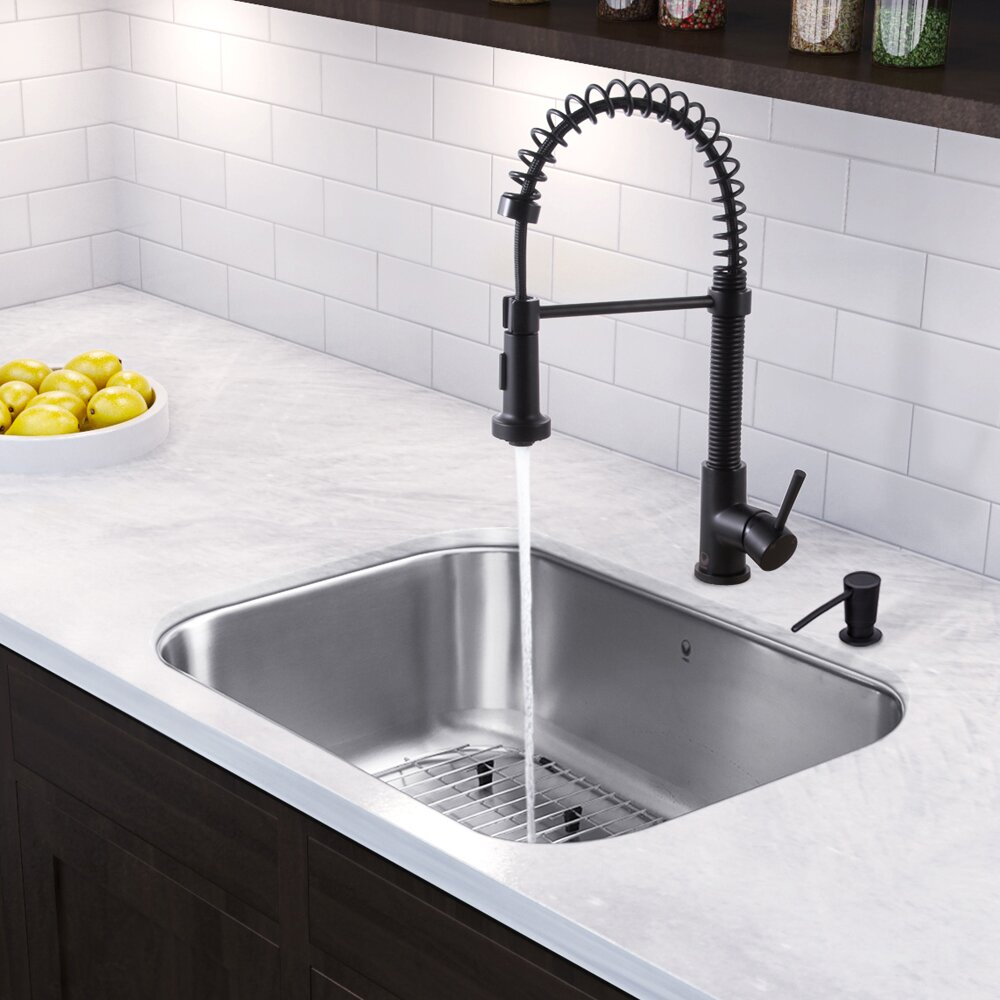 30 inch undermount single bowl 18 gauge stainless steel - 18 inch kitchen sink ...