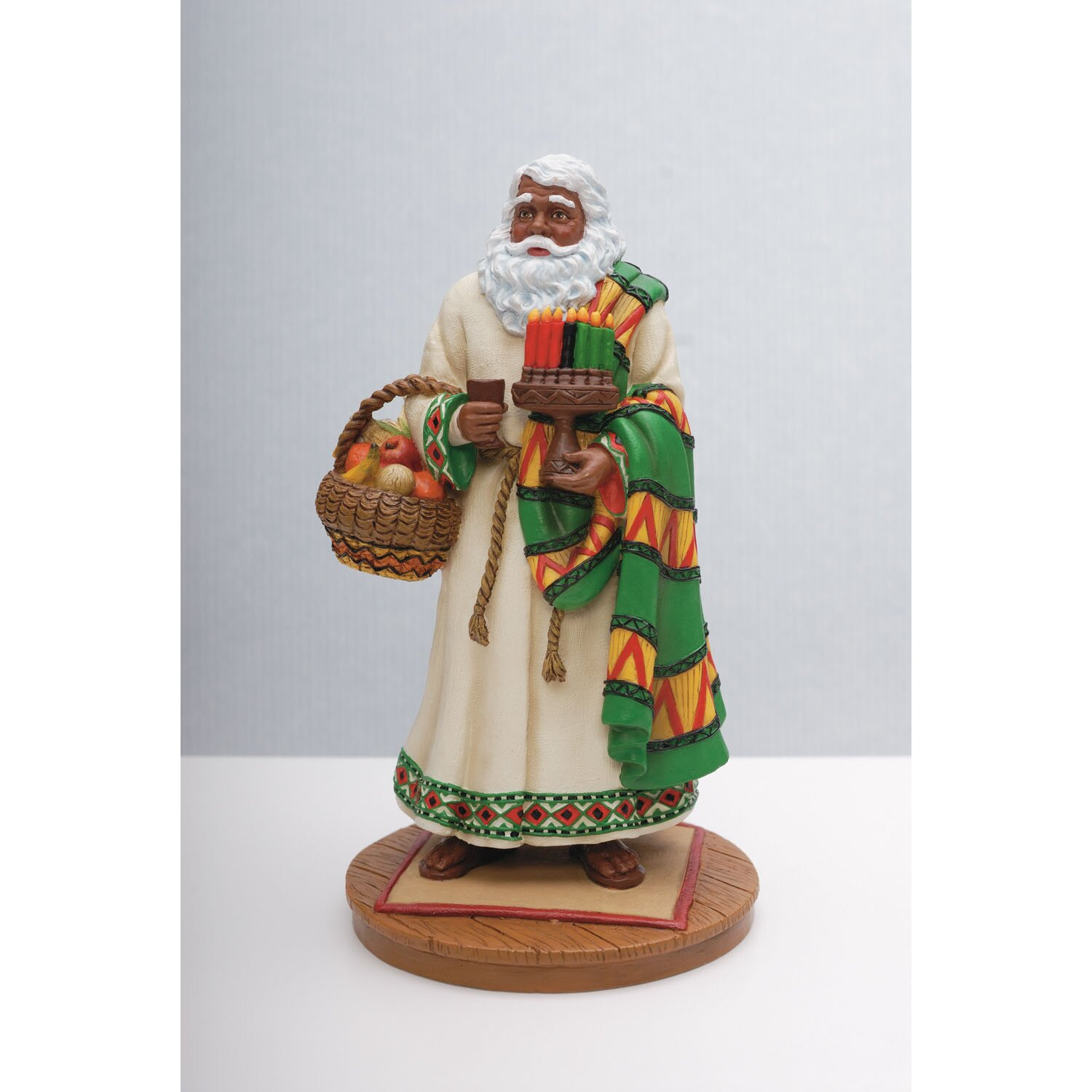 Precious Moments Loving Is Caring Precious Moments African American Santa Limited Edition African