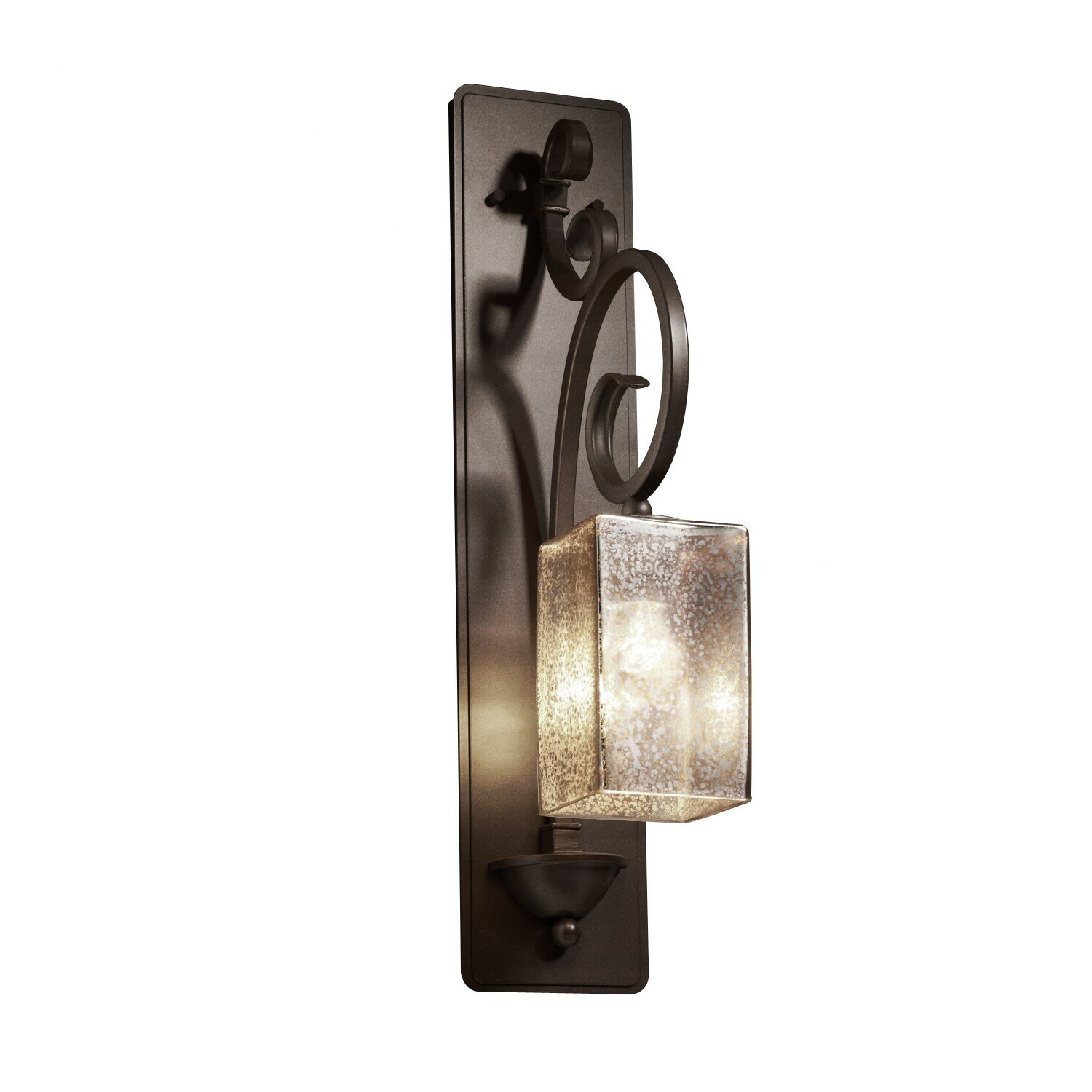 Justice Design Group Fusion Victoria 1 Light Wall Sconce & Reviews Wayfair