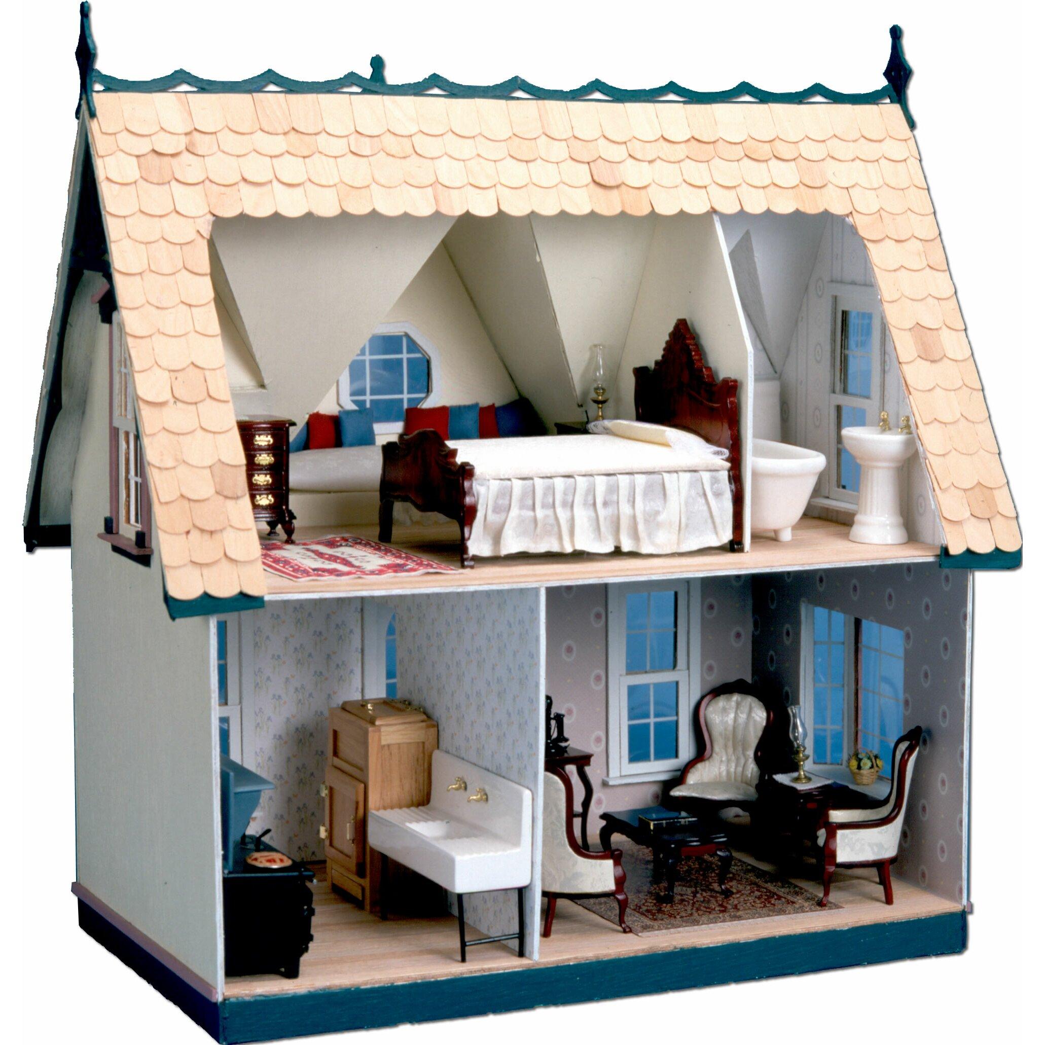 Greenleaf Dollhouses Orchid Dollhouse