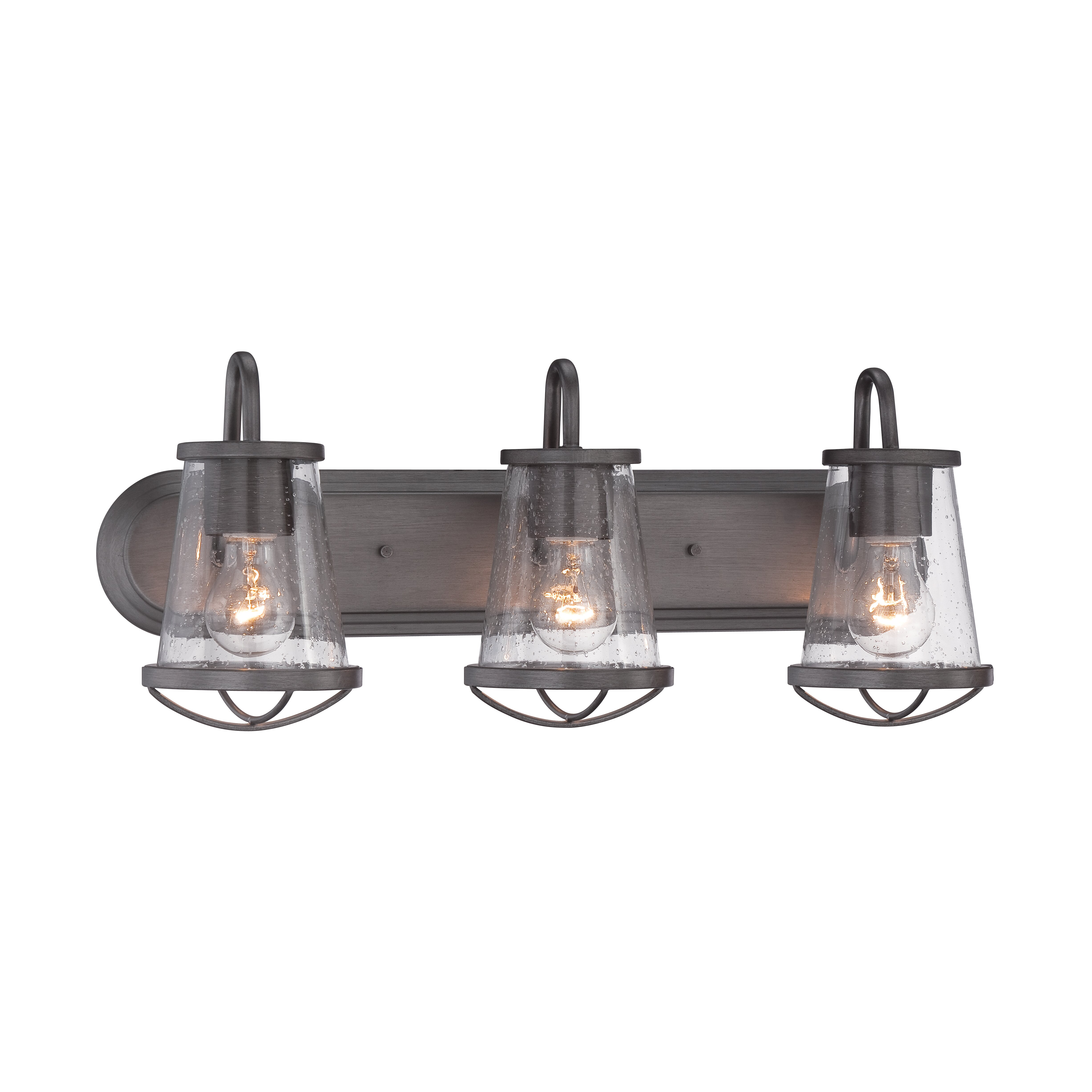 Bathroom Wall Vanity Lights : Designers Fountain Darby 3 Light Vanity Light & Reviews Wayfair