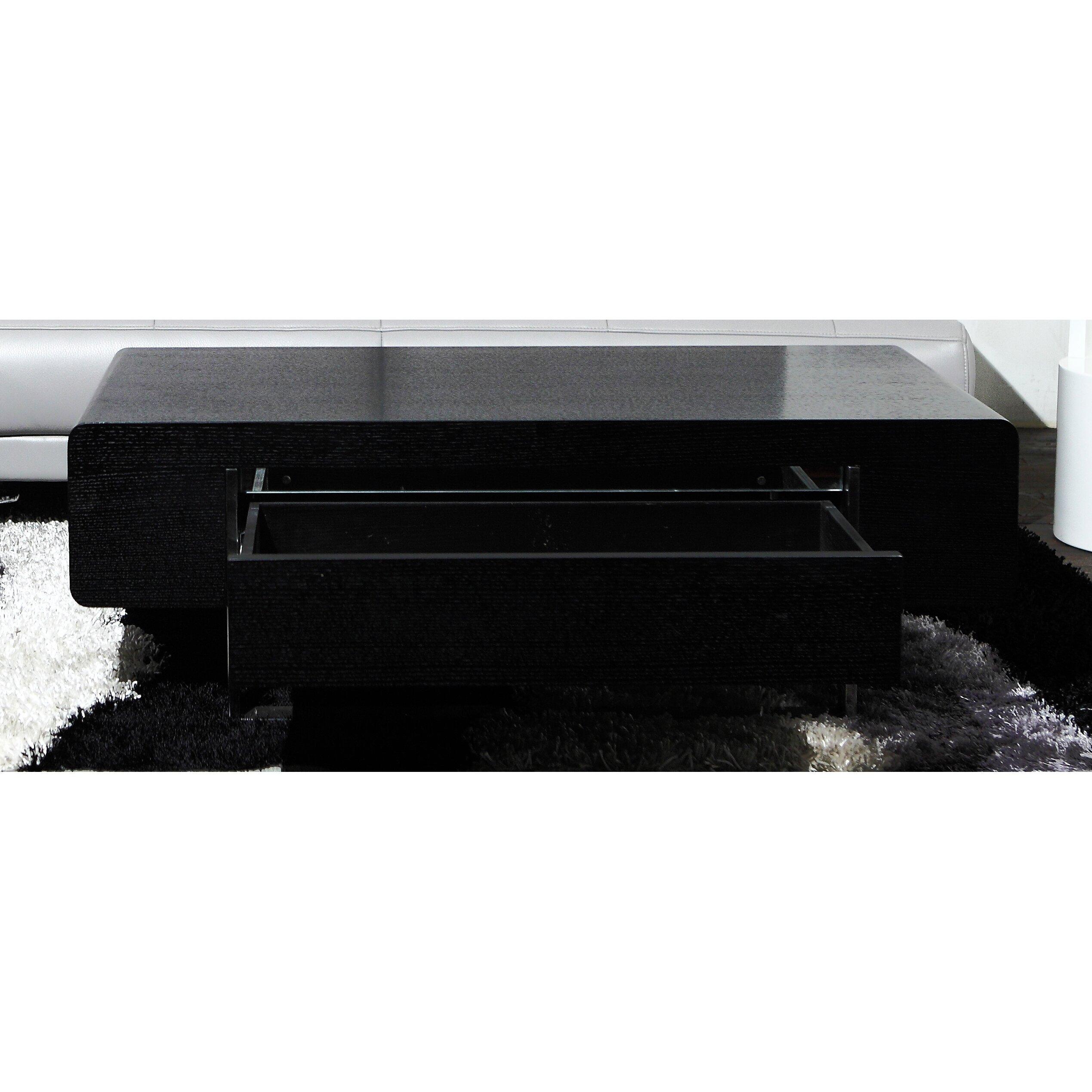hokku designs coffee table  great furniture references - hokku designs drone coffee table amp reviews  wayfair