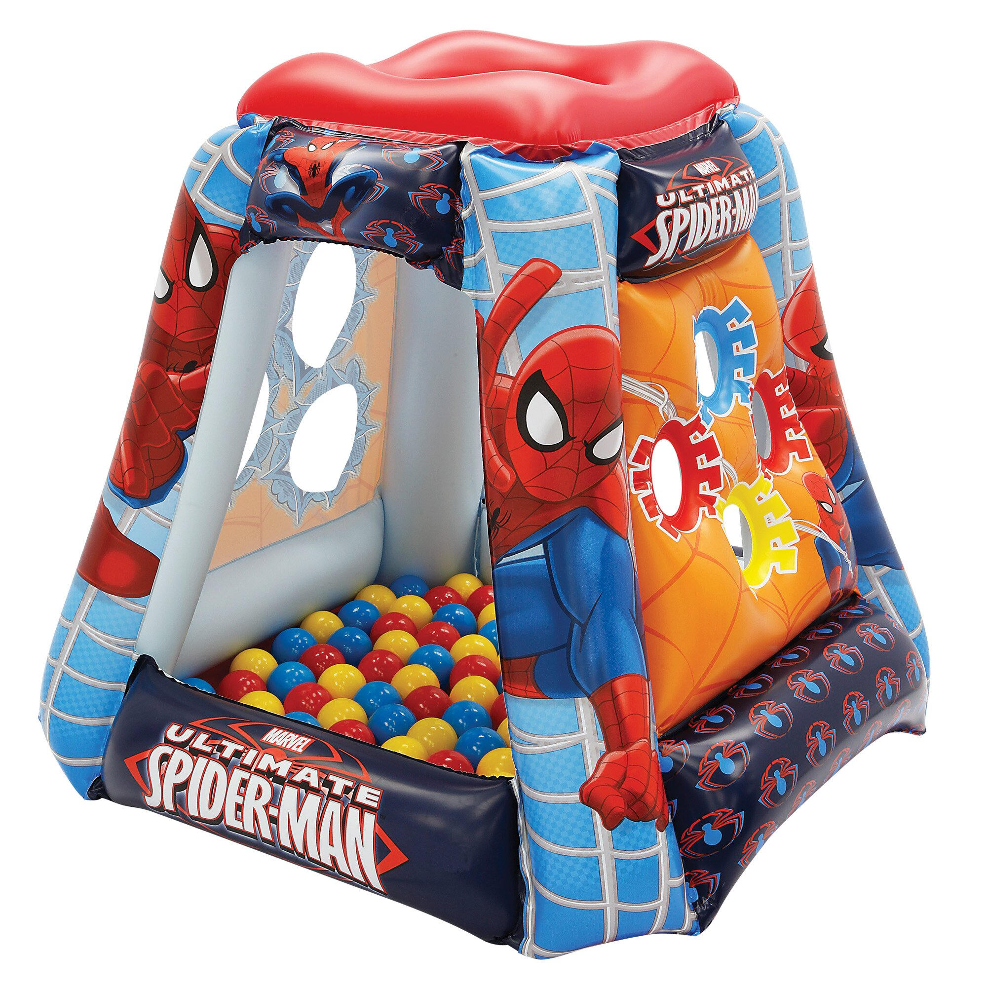 Ultimate Spiderman Spider Power Playland Play Tent Wayfair