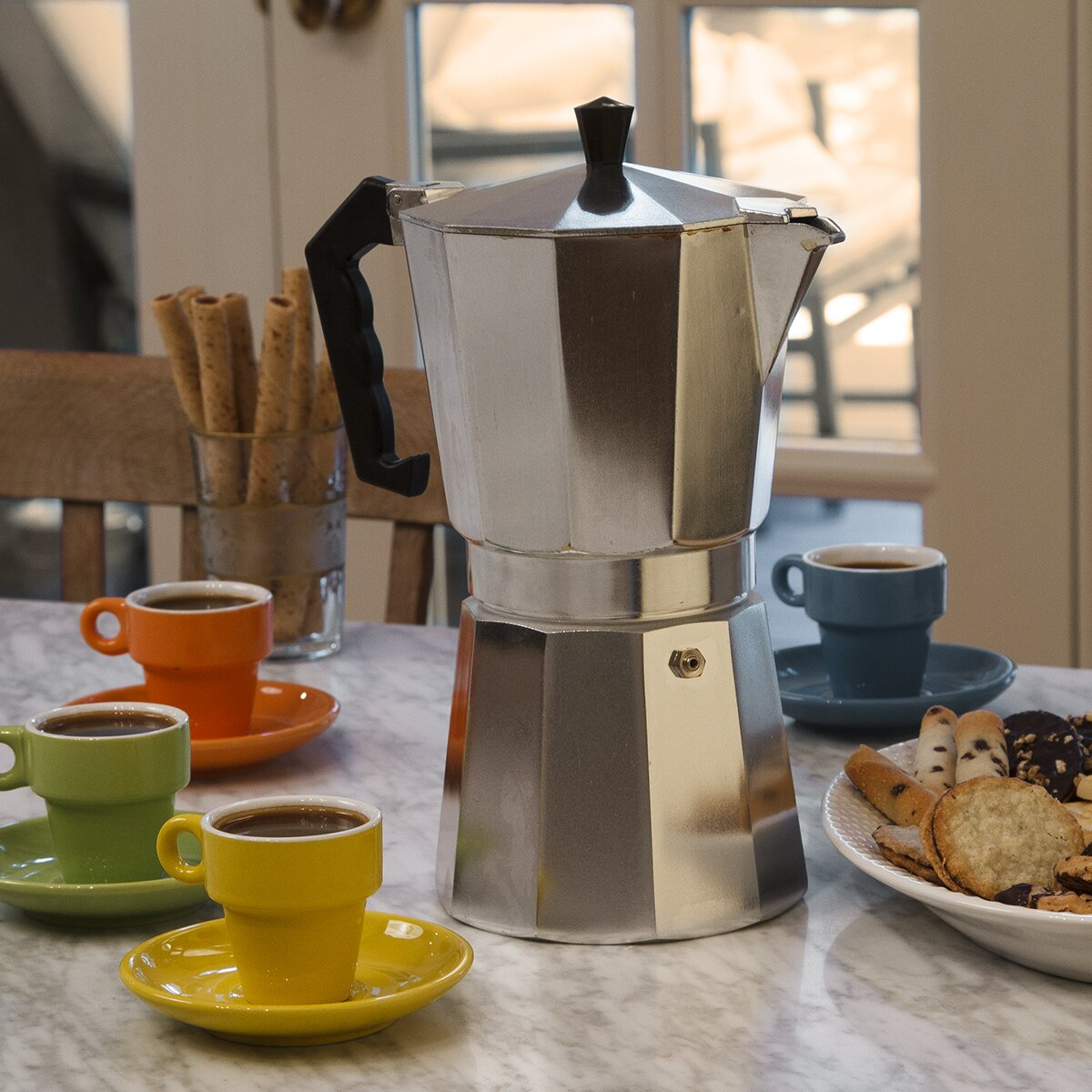 Primula Stove Top Aluminum Espresso Maker & Reviews | Wayfair