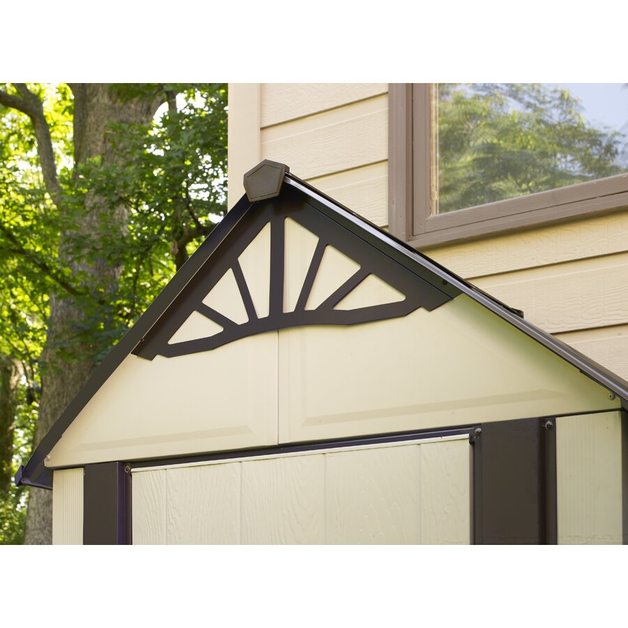 Porch Light Dsm: Arrow Designer Series 5 Ft. W X 3 Ft. D Steel Tool Shed