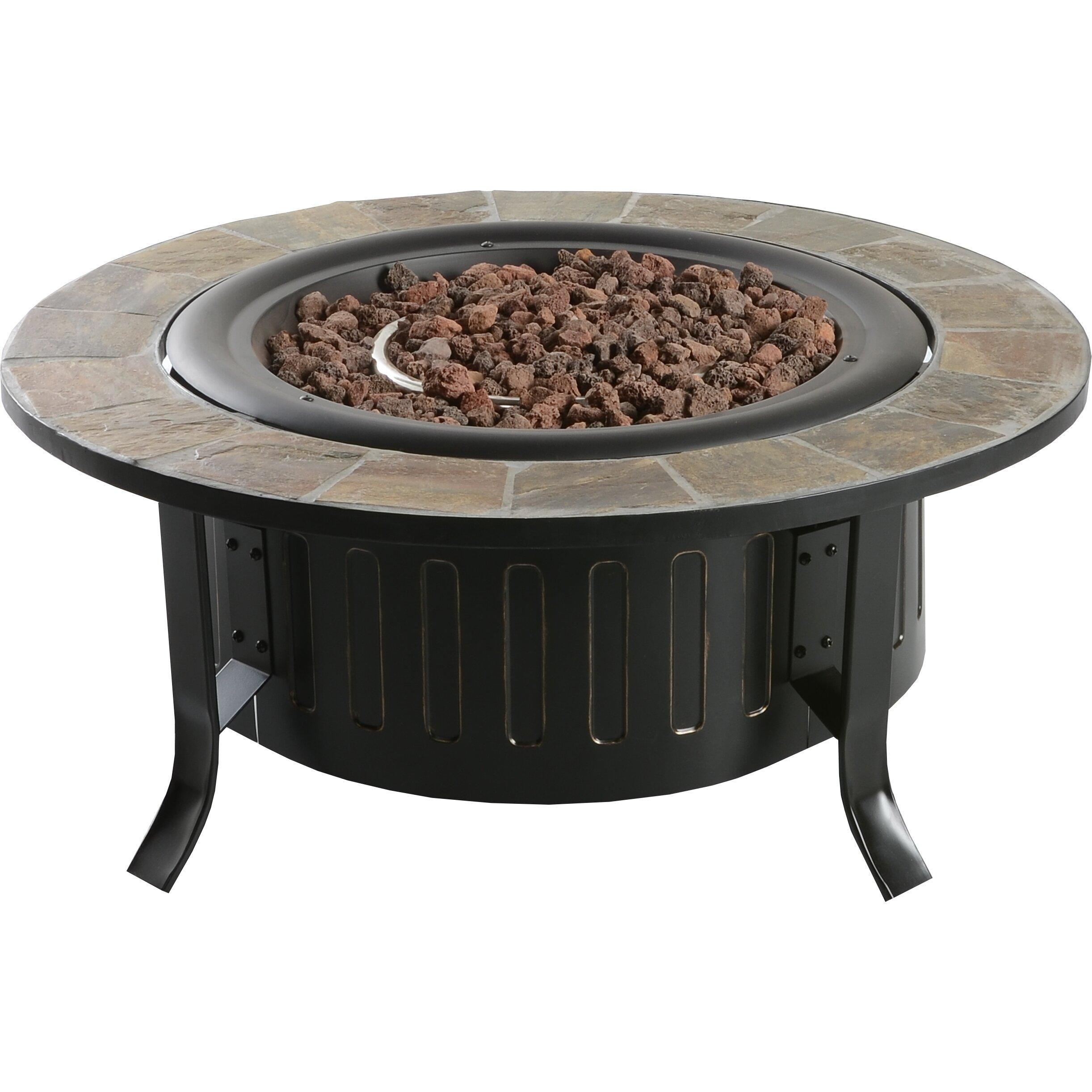 Bond Bolen Steel Outdoor Gas Table Top Fireplace & Reviews