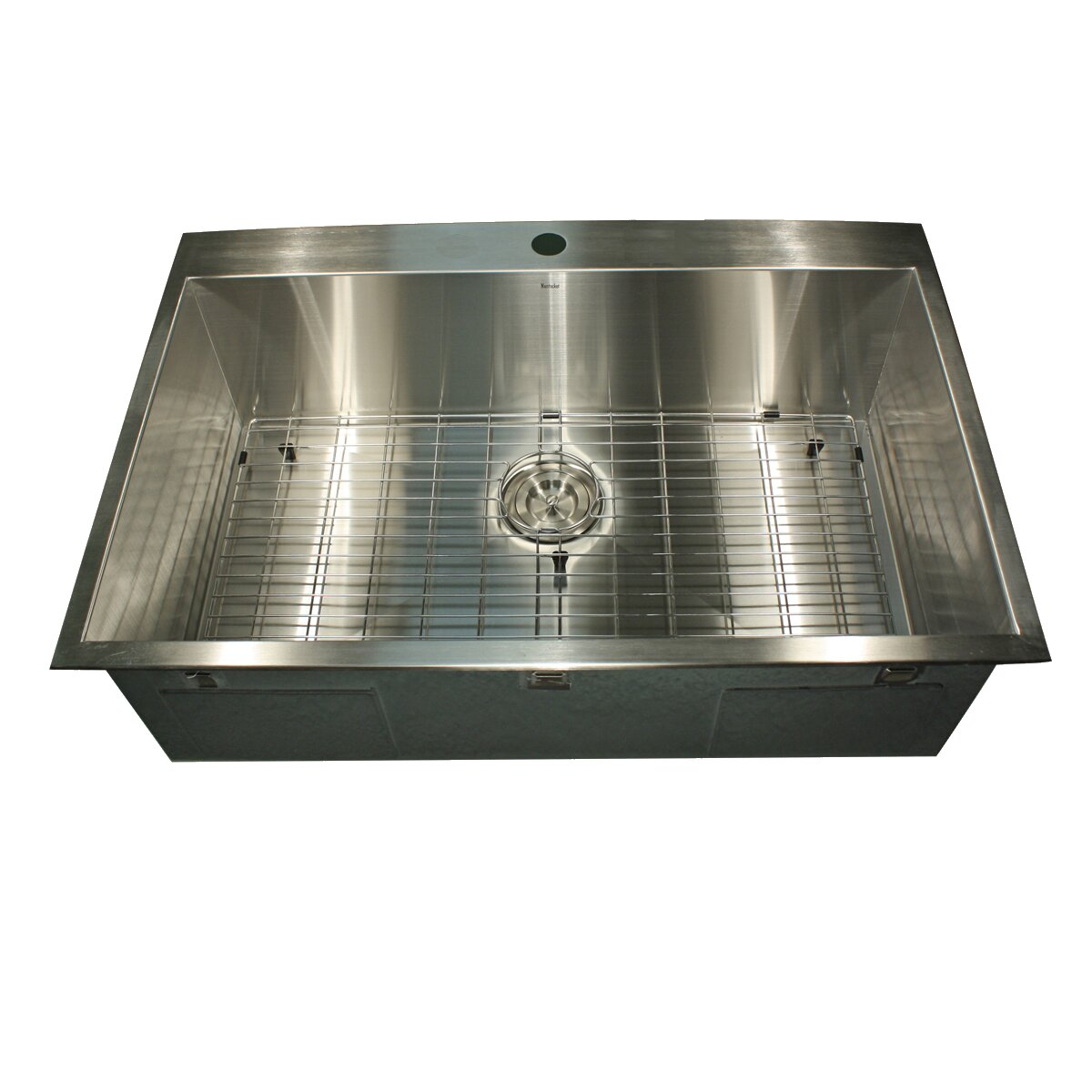 Rectangle Stainless Steel Kitchen Sink  Top Mount