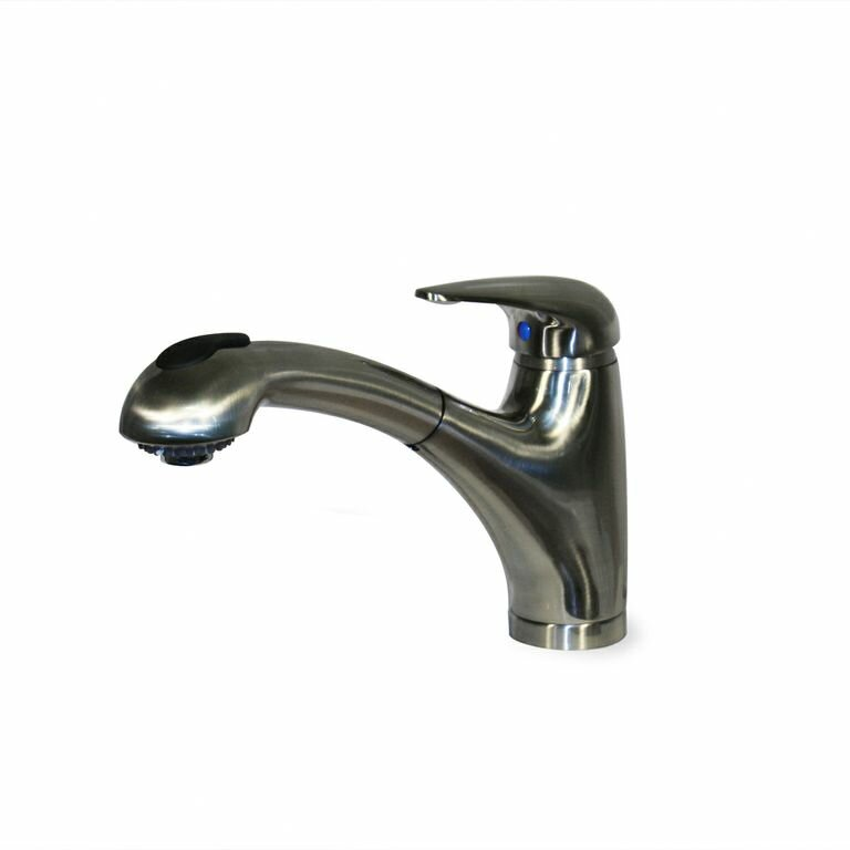 classic single handle pull out kitchen faucet wayfair