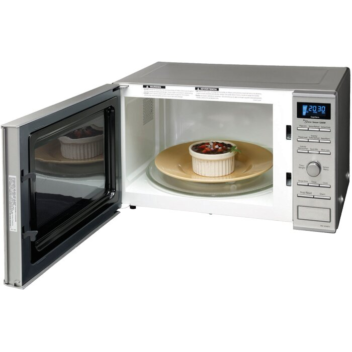 Countertop Microwave To Built In : ... Cu. Ft. 1200W Countertop/Built-in Microwave & Reviews Wayfair
