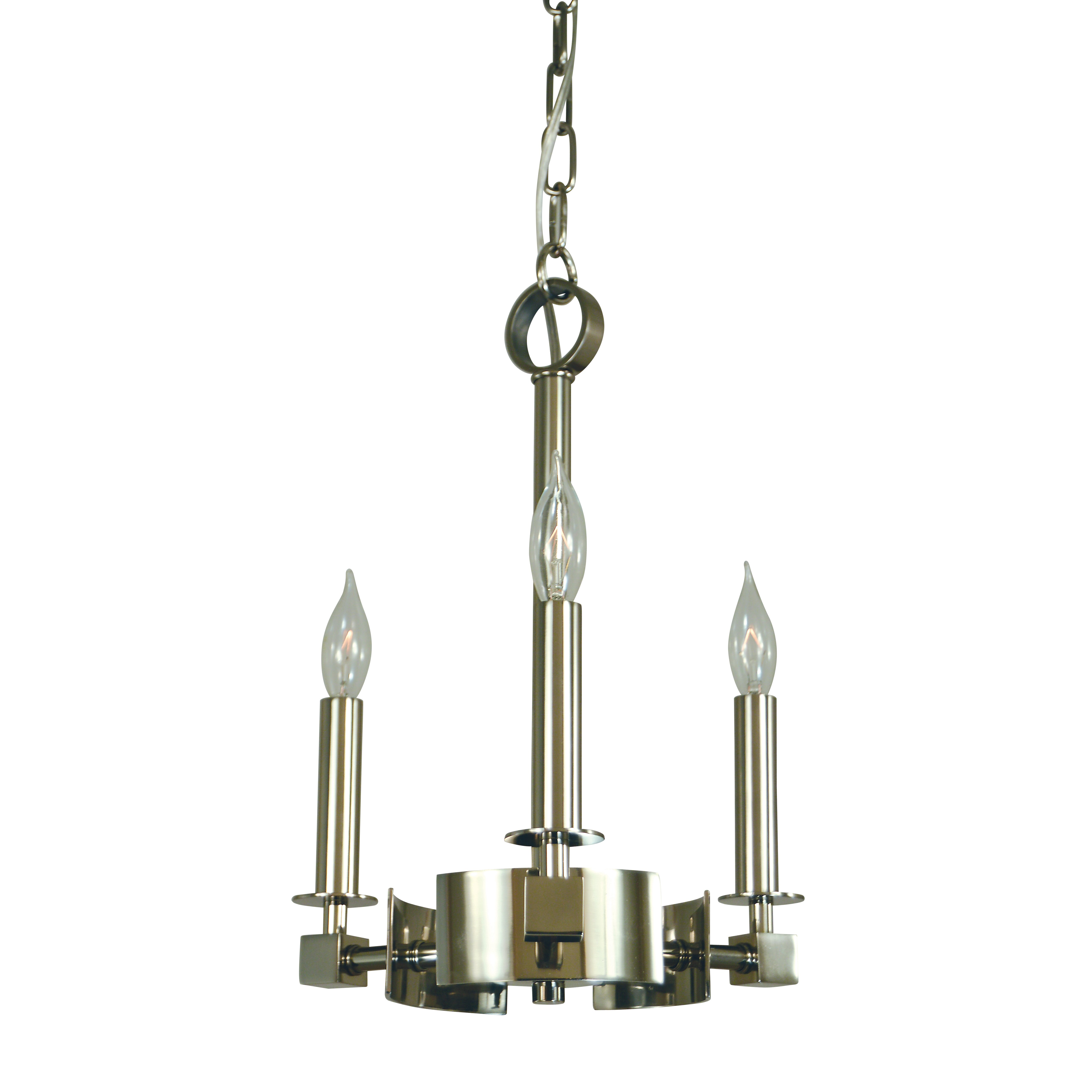 Hammersmith 3 Light Candle Chandelier by Framburg